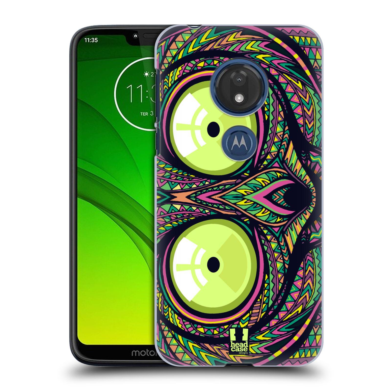 Plastové pouzdro na mobil Motorola Moto G7 Play - Head Case - AZTEC NÁRTOUN