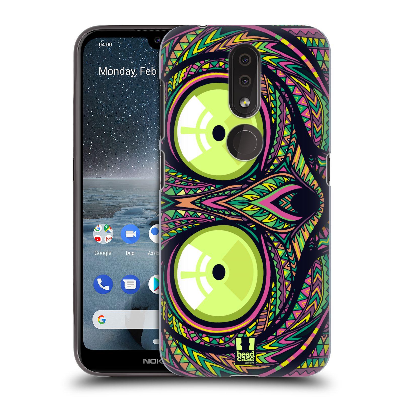 Plastové pouzdro na mobil Nokia 4.2 - Head Case - AZTEC NÁRTOUN