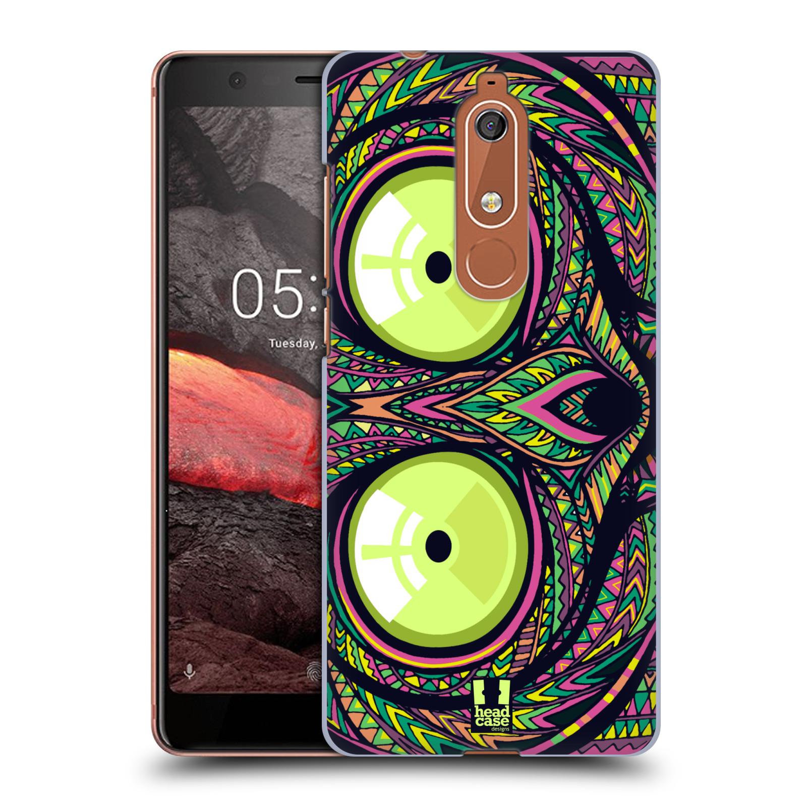 Plastové pouzdro na mobil Nokia 5.1 - Head Case - AZTEC NÁRTOUN
