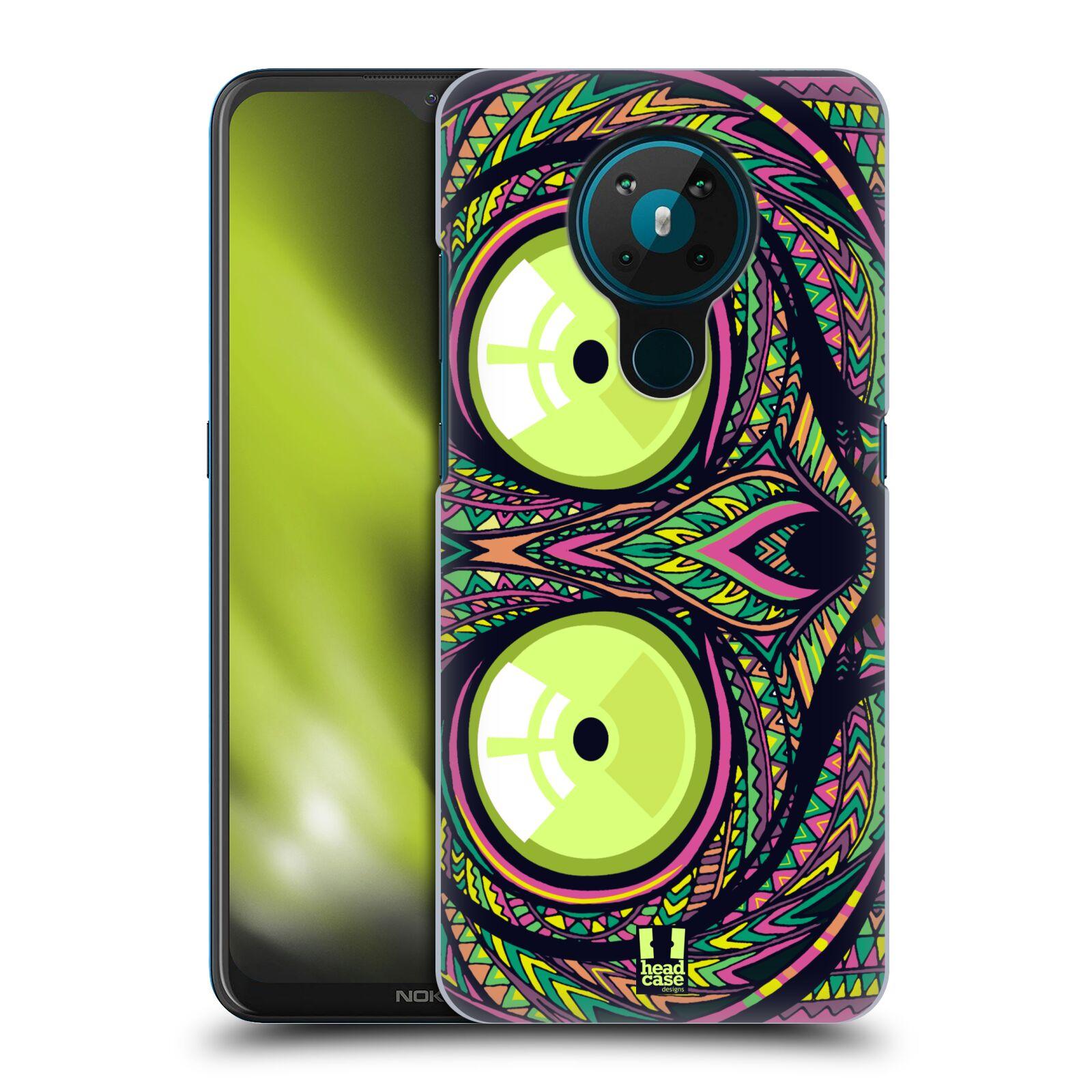 Plastové pouzdro na mobil Nokia 5.3 - Head Case - AZTEC NÁRTOUN
