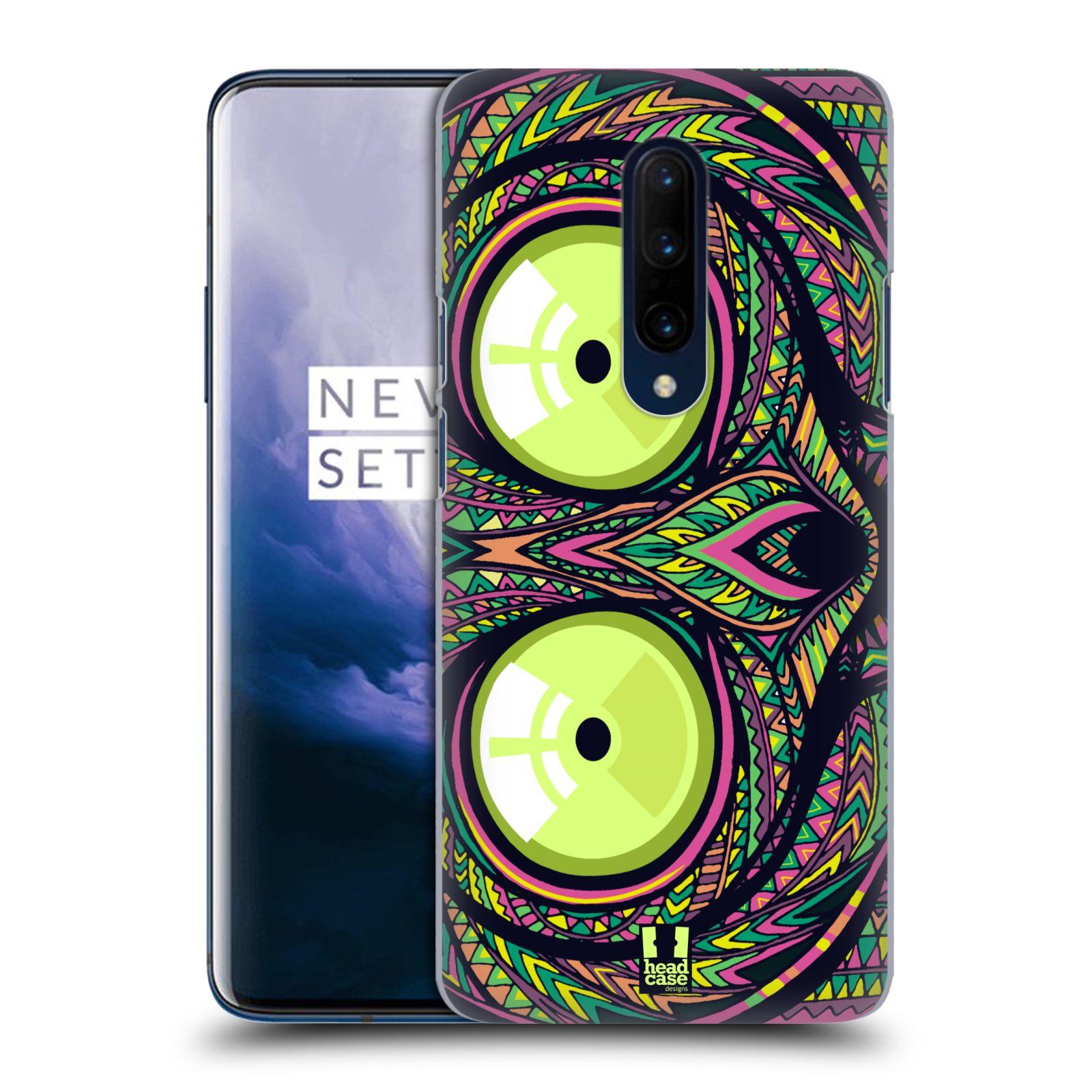 Plastové pouzdro na mobil OnePlus 7 Pro - Head Case - AZTEC NÁRTOUN