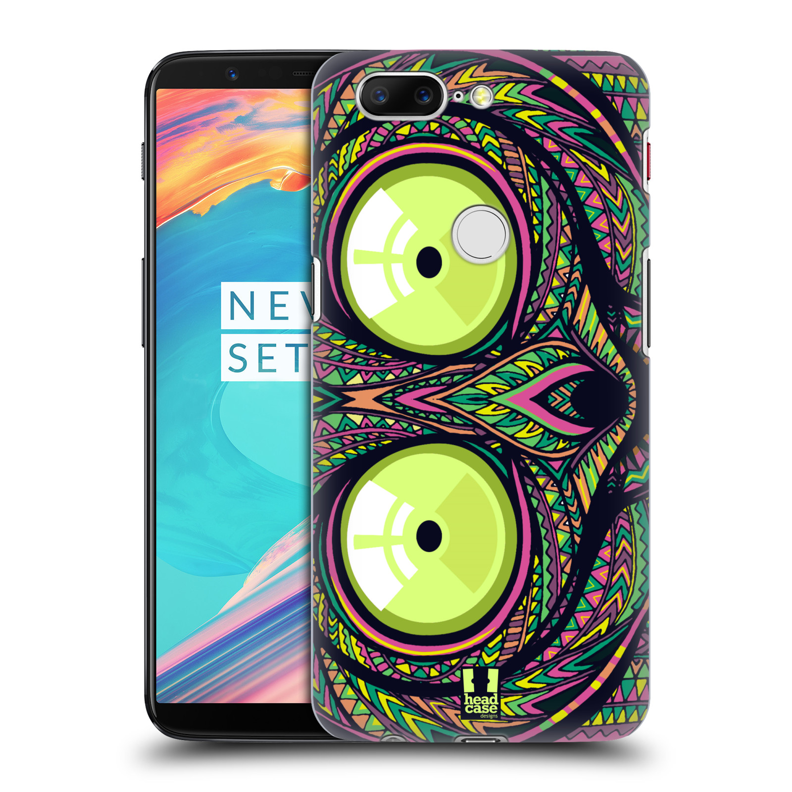 Plastové pouzdro na mobil OnePlus 5T - Head Case - AZTEC NÁRTOUN
