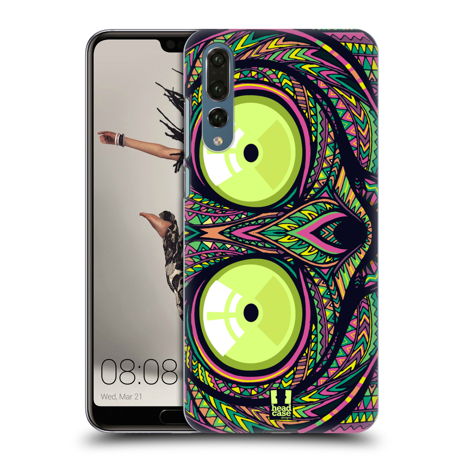 Plastové pouzdro na mobil Huawei P20 Pro - Head Case - AZTEC NÁRTOUN