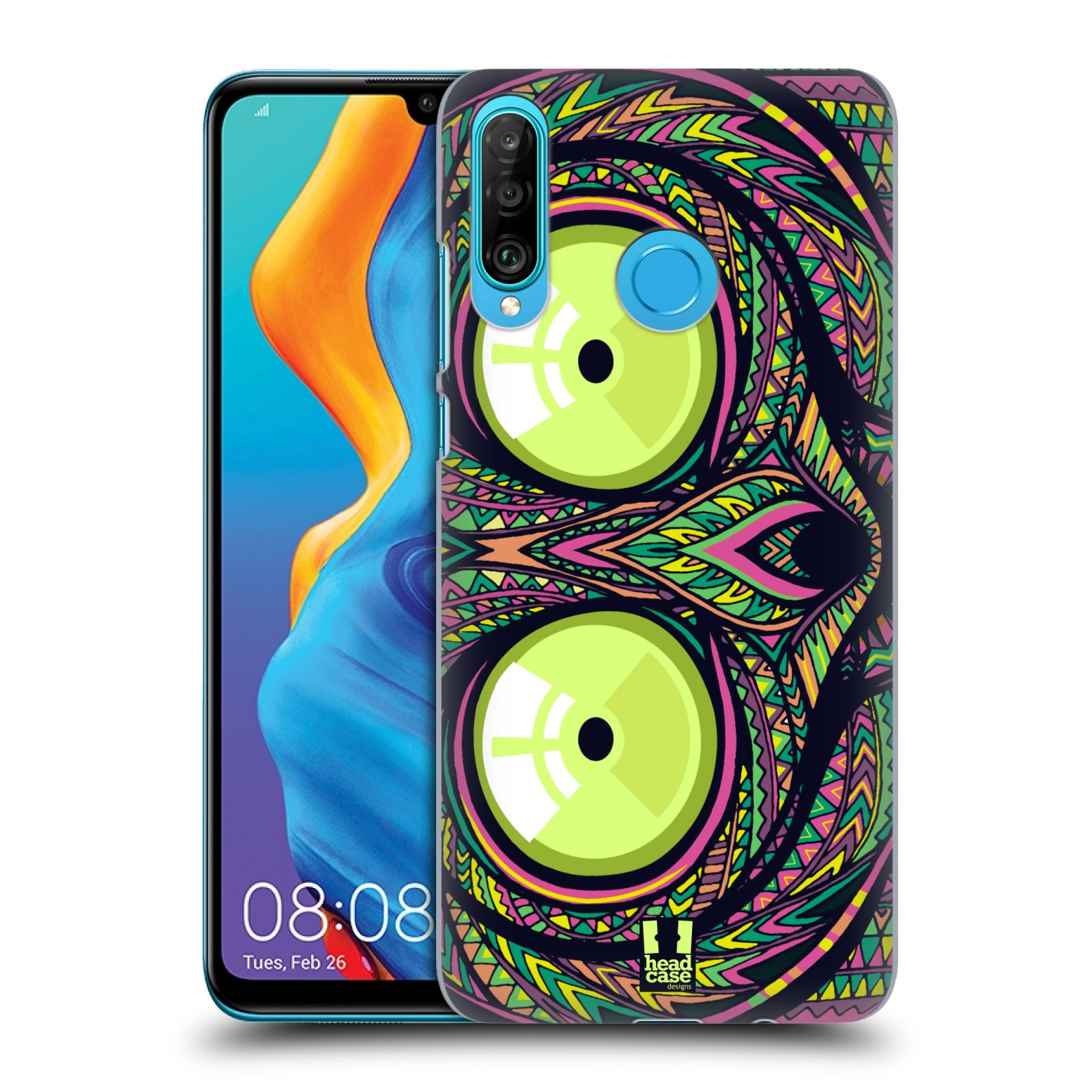Plastové pouzdro na mobil Huawei P30 Lite - Head Case - AZTEC NÁRTOUN