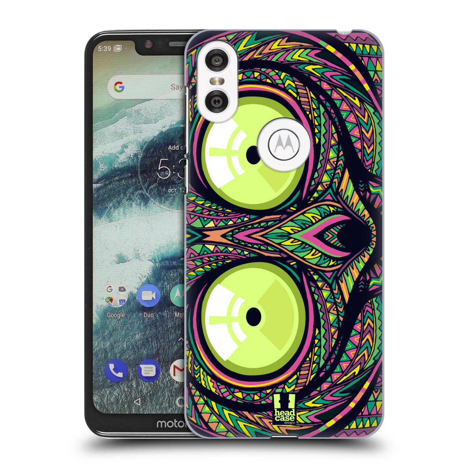 Plastové pouzdro na mobil Motorola One - Head Case - AZTEC NÁRTOUN