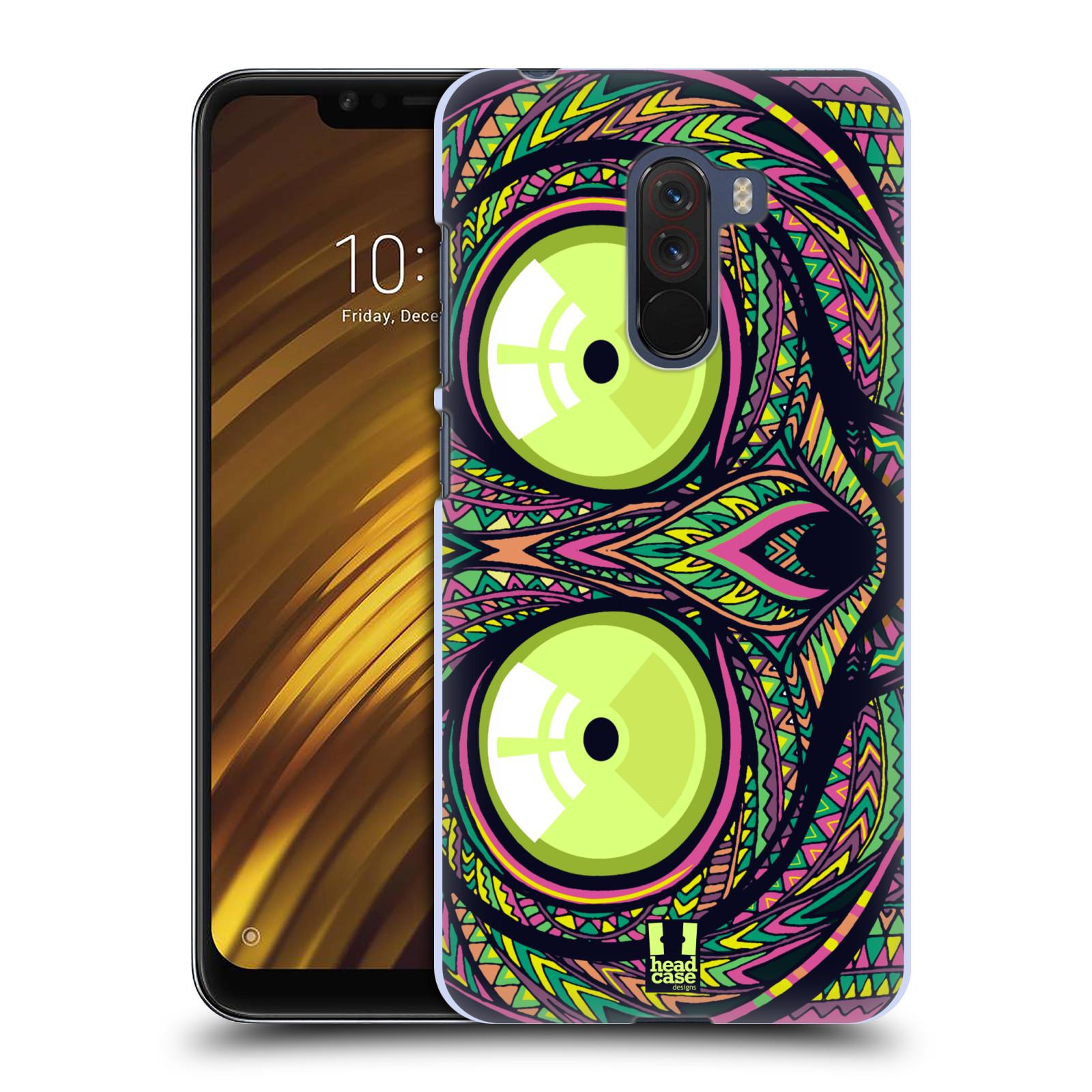 Plastové pouzdro na mobil Xiaomi Pocophone F1 - Head Case - AZTEC NÁRTOUN