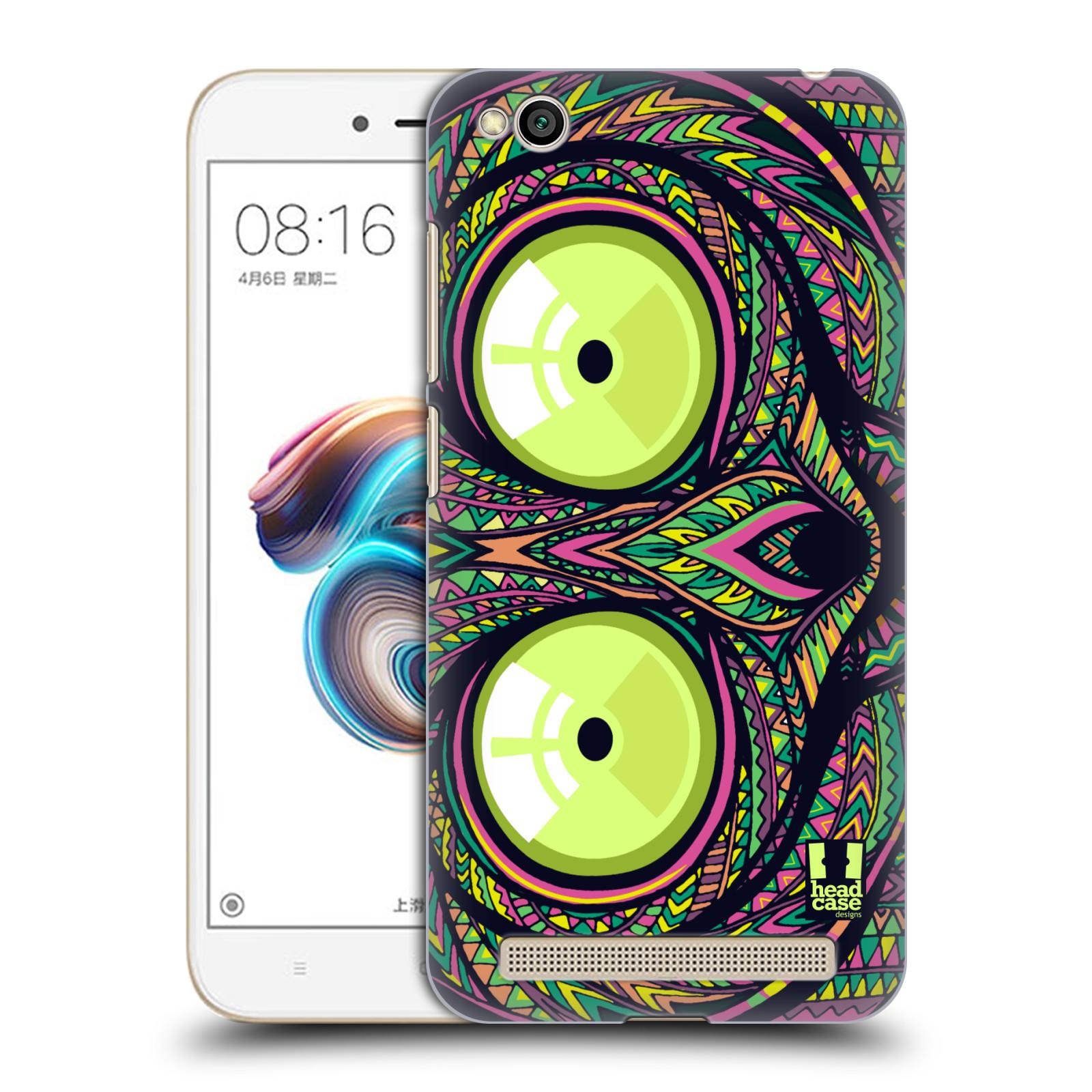 Plastové pouzdro na mobil Xiaomi Redmi 5A - Head Case - AZTEC NÁRTOUN
