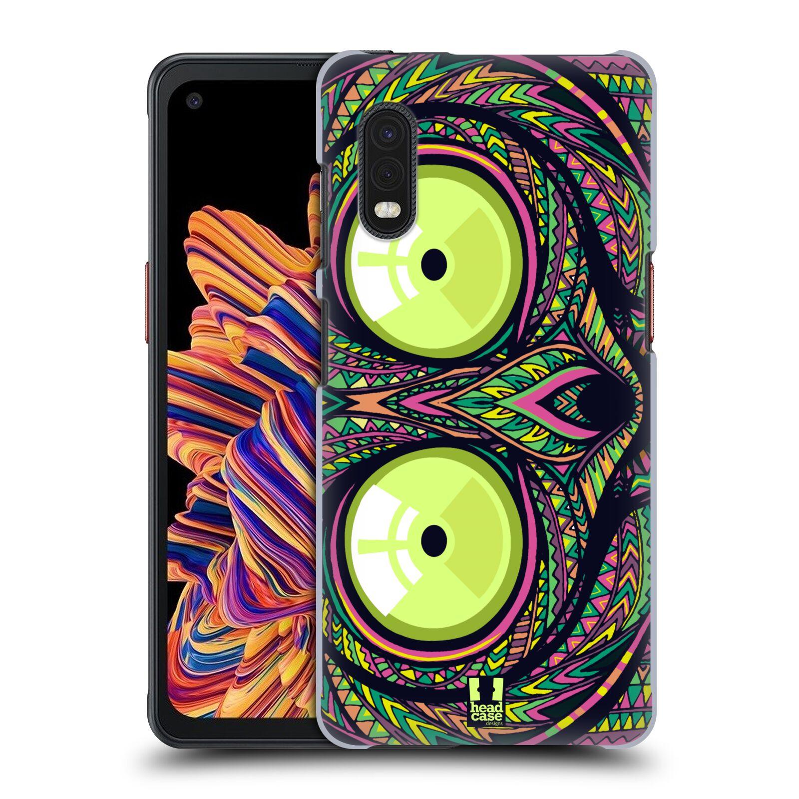 Plastové pouzdro na mobil Samsung Galaxy Xcover Pro - Head Case - AZTEC NÁRTOUN