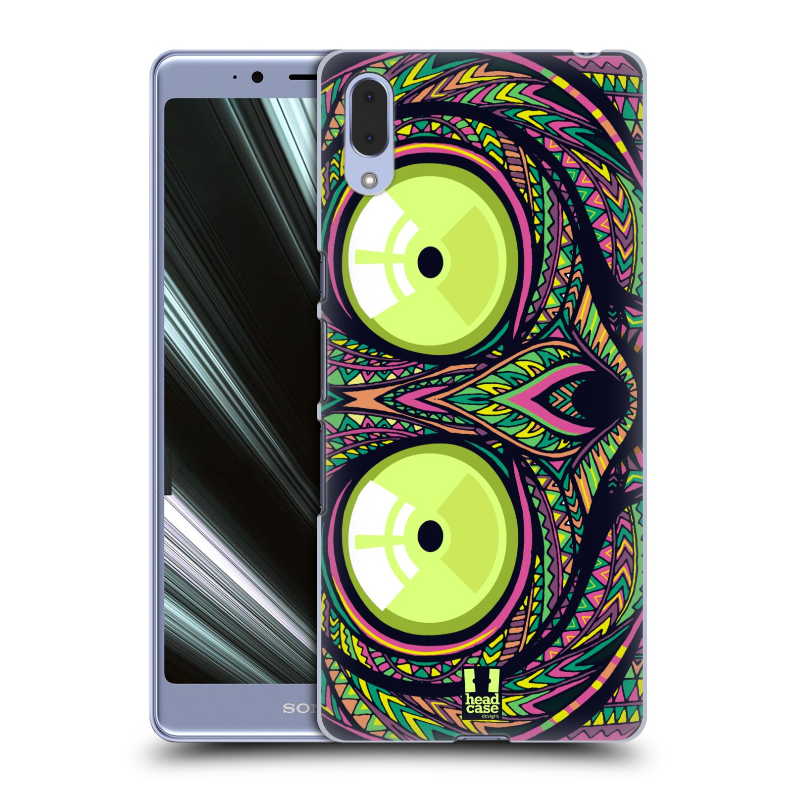 Plastové pouzdro na mobil Sony Xperia L3 - Head Case - AZTEC NÁRTOUN