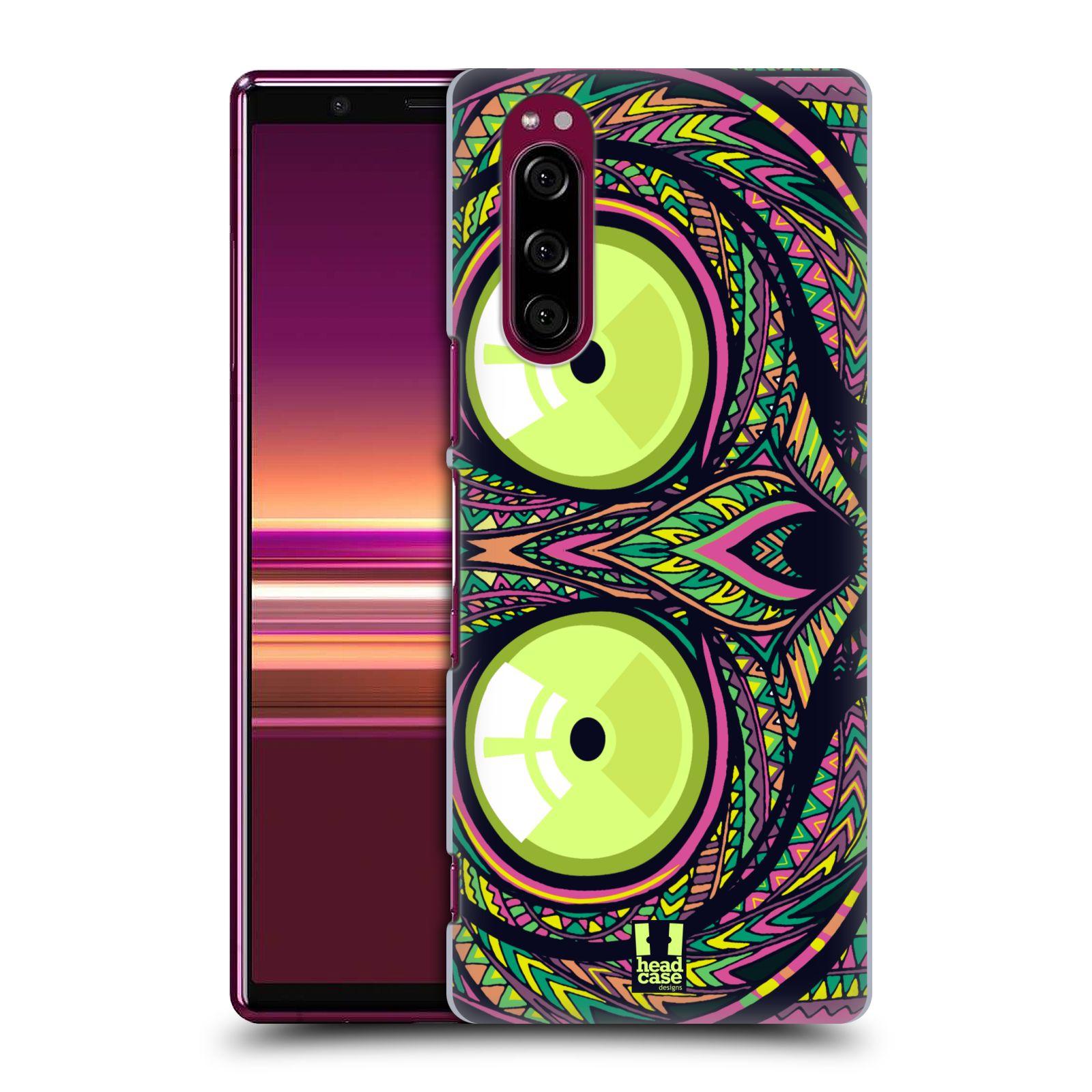 Plastové pouzdro na mobil Sony Xperia 5 - Head Case - AZTEC NÁRTOUN