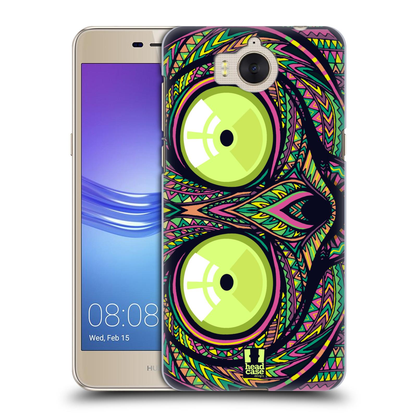 Plastové pouzdro na mobil Huawei Y6 2017 - Head Case - AZTEC NÁRTOUN