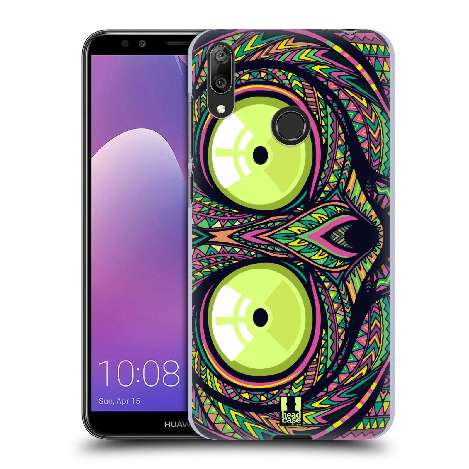 Plastové pouzdro na mobil Huawei Y7 (2019) - Head Case - AZTEC NÁRTOUN