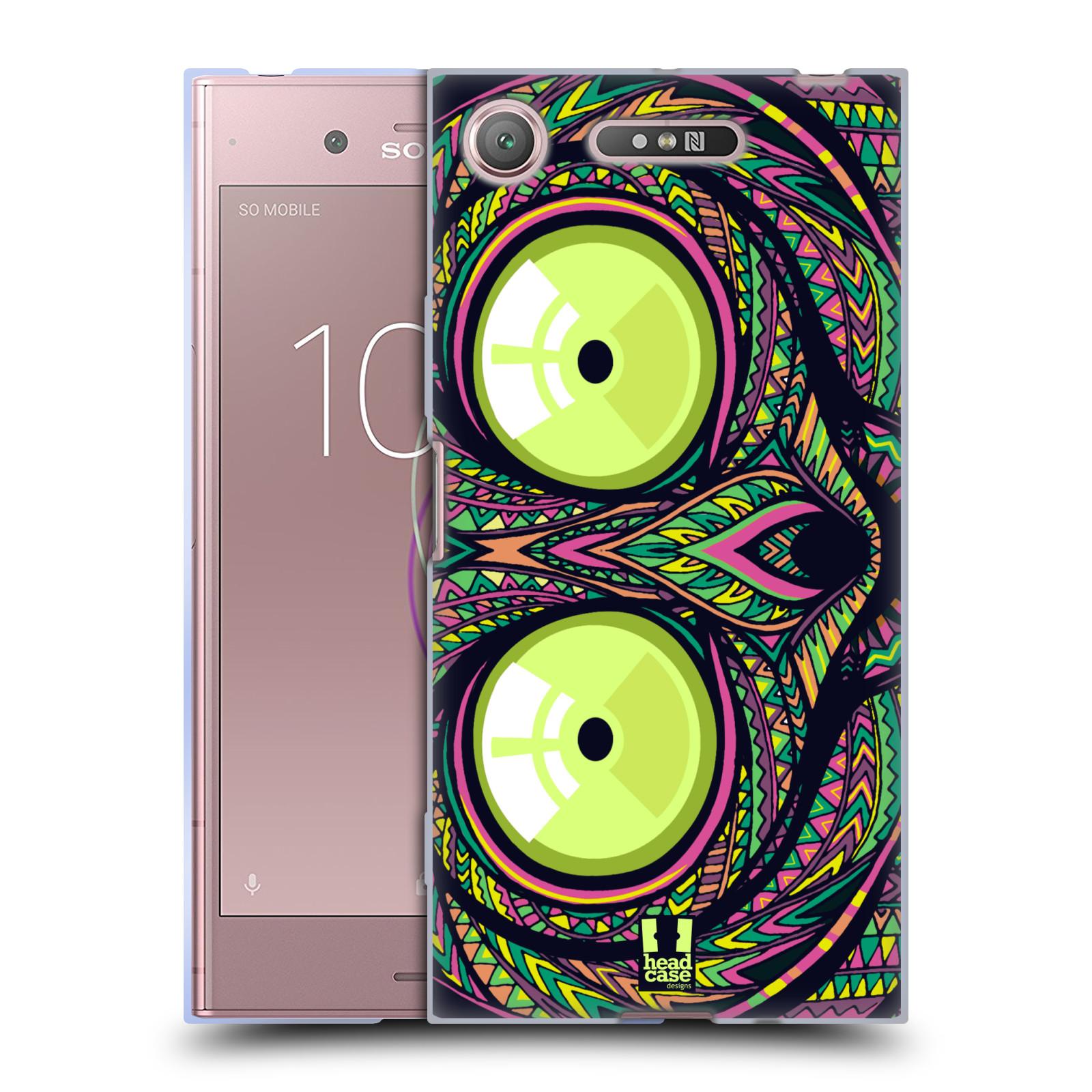 Silikonové pouzdro na mobil Sony Xperia XZ1 - Head Case - AZTEC NÁRTOUN