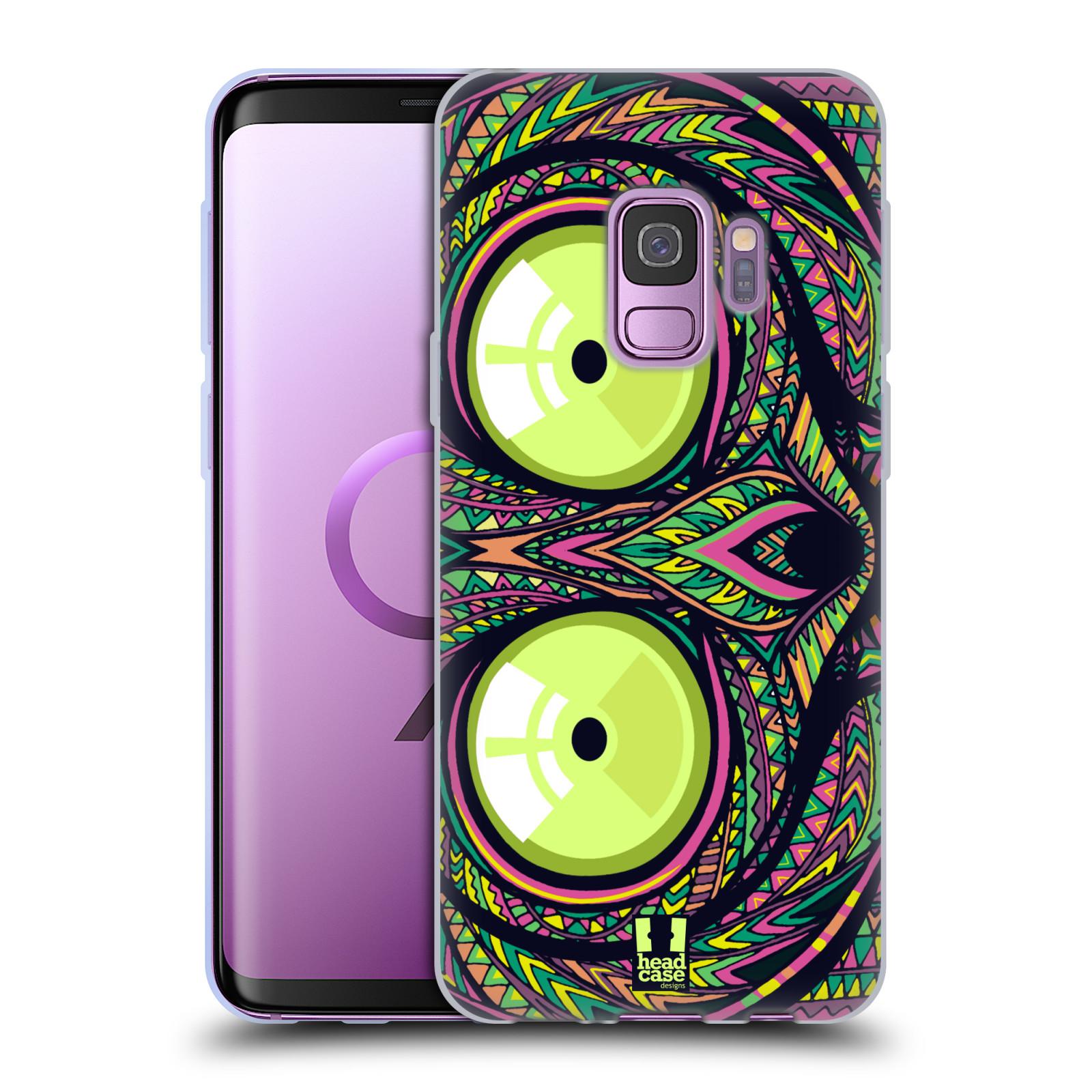 Silikonové pouzdro na mobil Samsung Galaxy S9 - Head Case - AZTEC NÁRTOUN