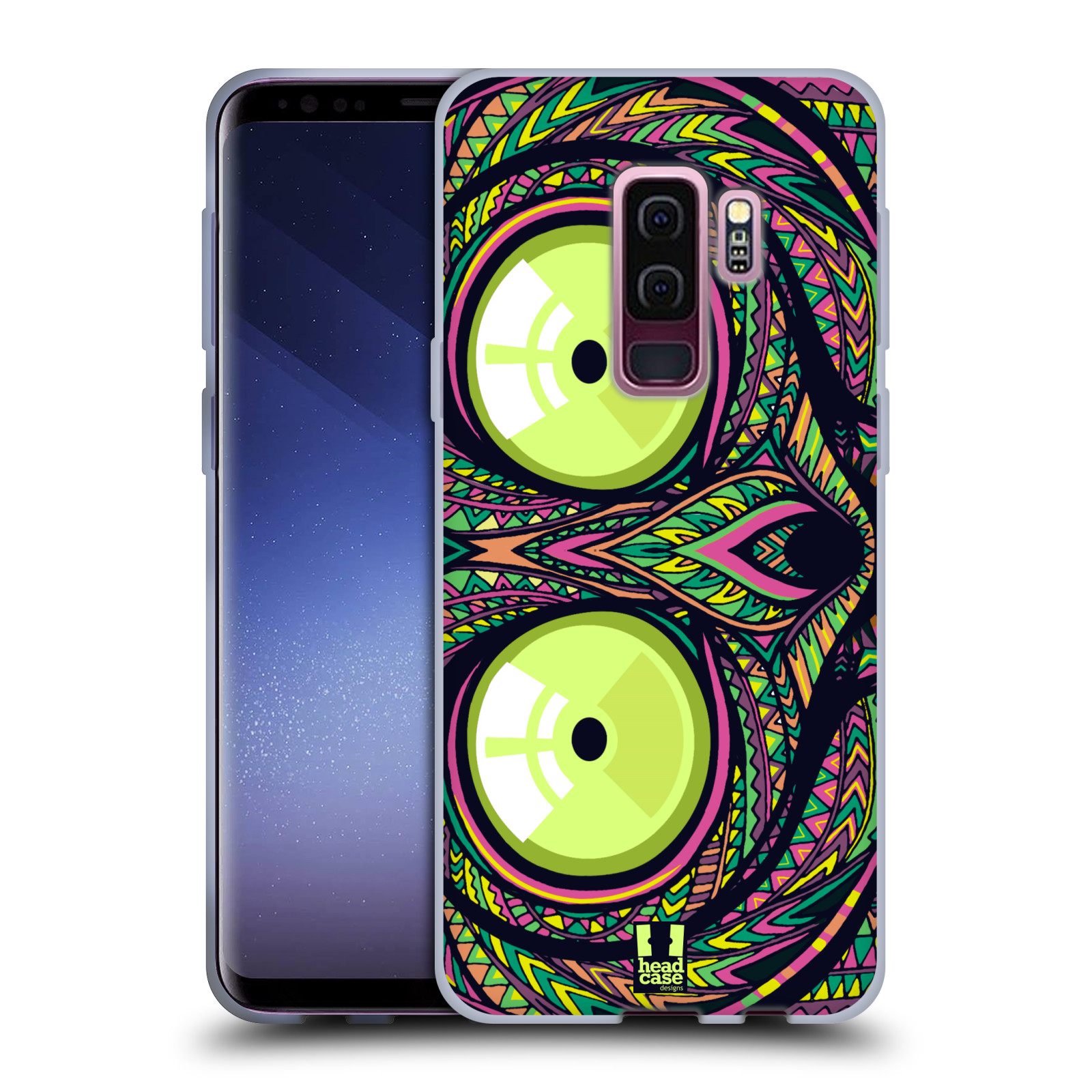 Silikonové pouzdro na mobil Samsung Galaxy S9 Plus - Head Case - AZTEC NÁRTOUN