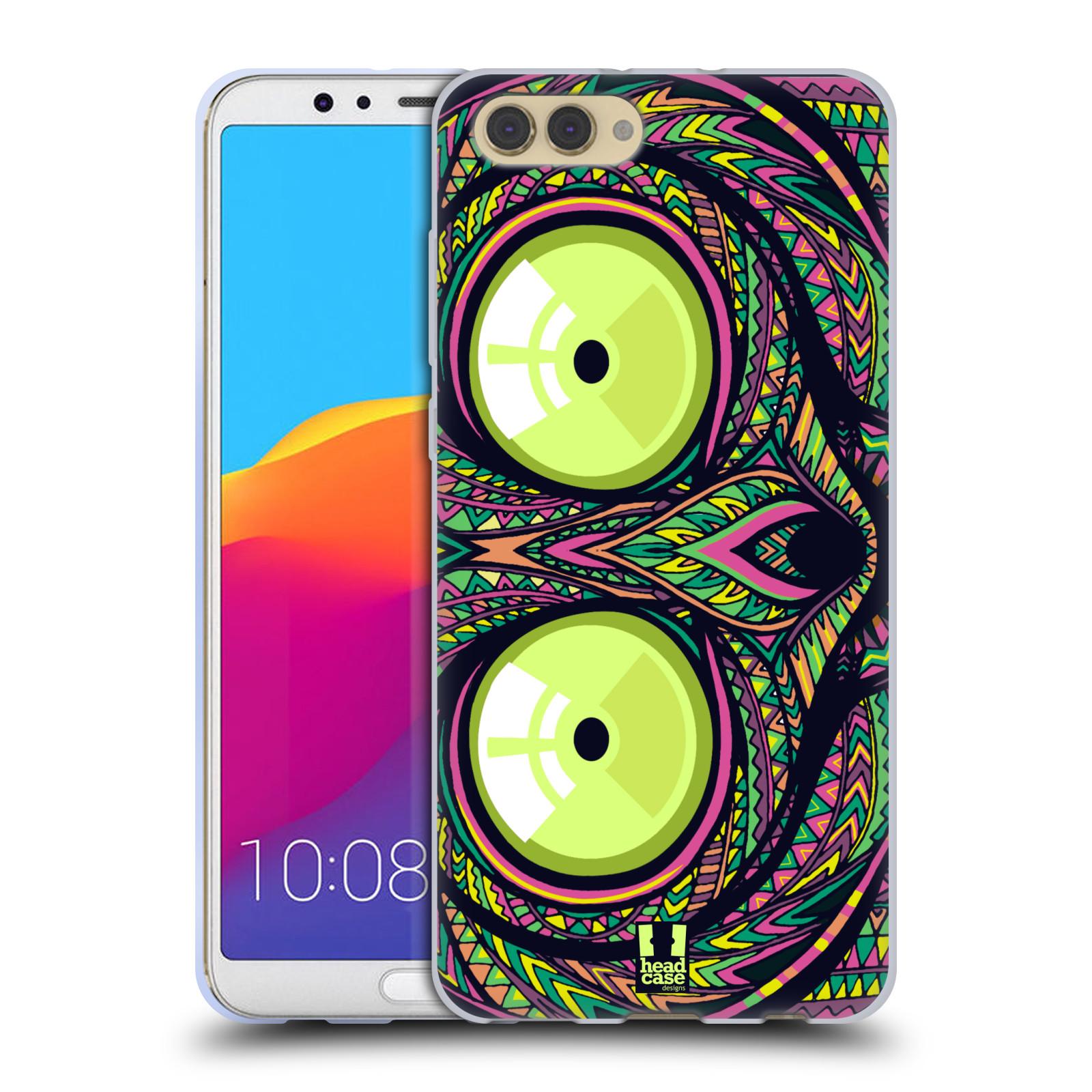 Silikonové pouzdro na mobil Honor View 10 - Head Case - AZTEC NÁRTOUN