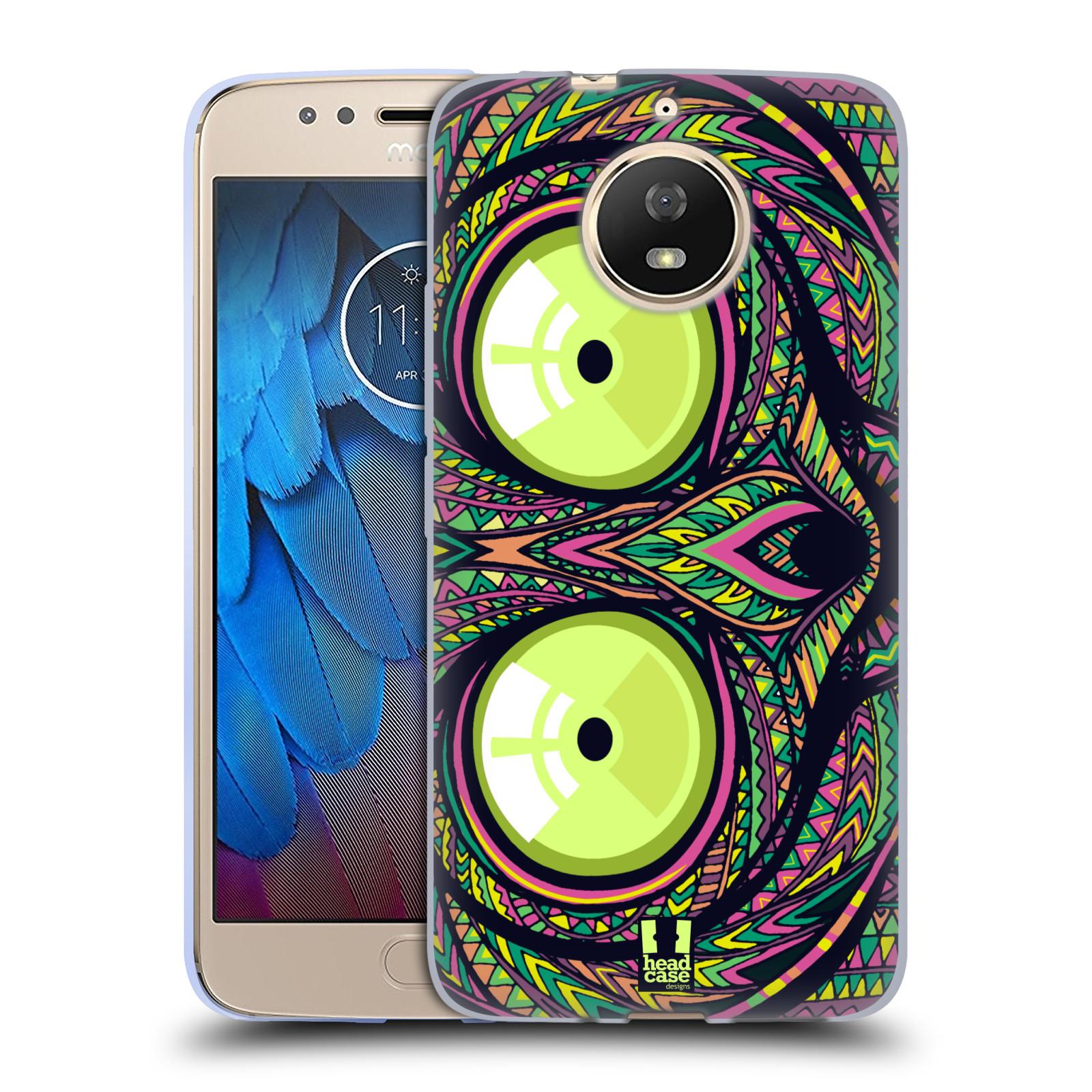 Silikonové pouzdro na mobil Lenovo Moto G5s - Head Case - AZTEC NÁRTOUN