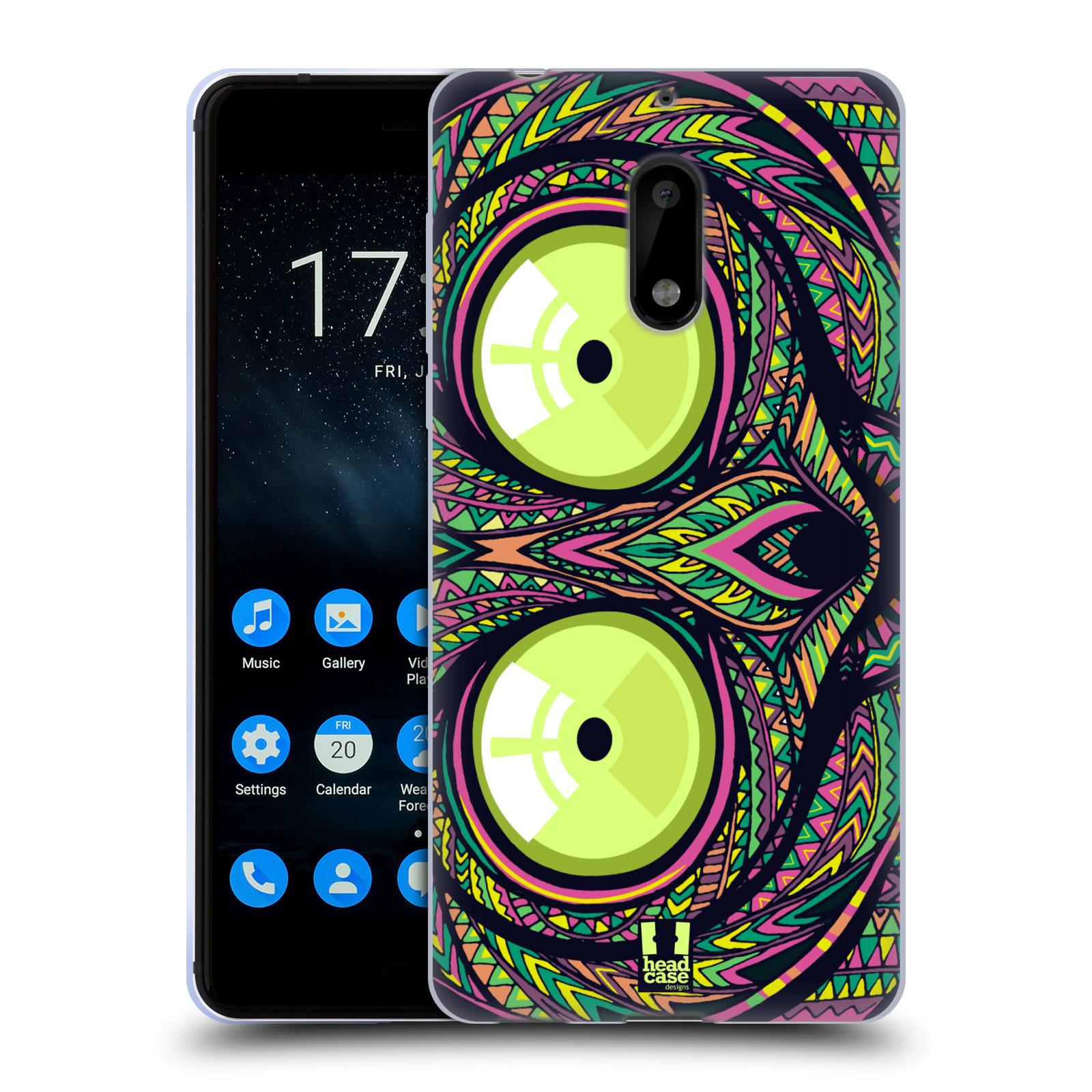 Silikonové pouzdro na mobil Nokia 6 - Head Case - AZTEC NÁRTOUN