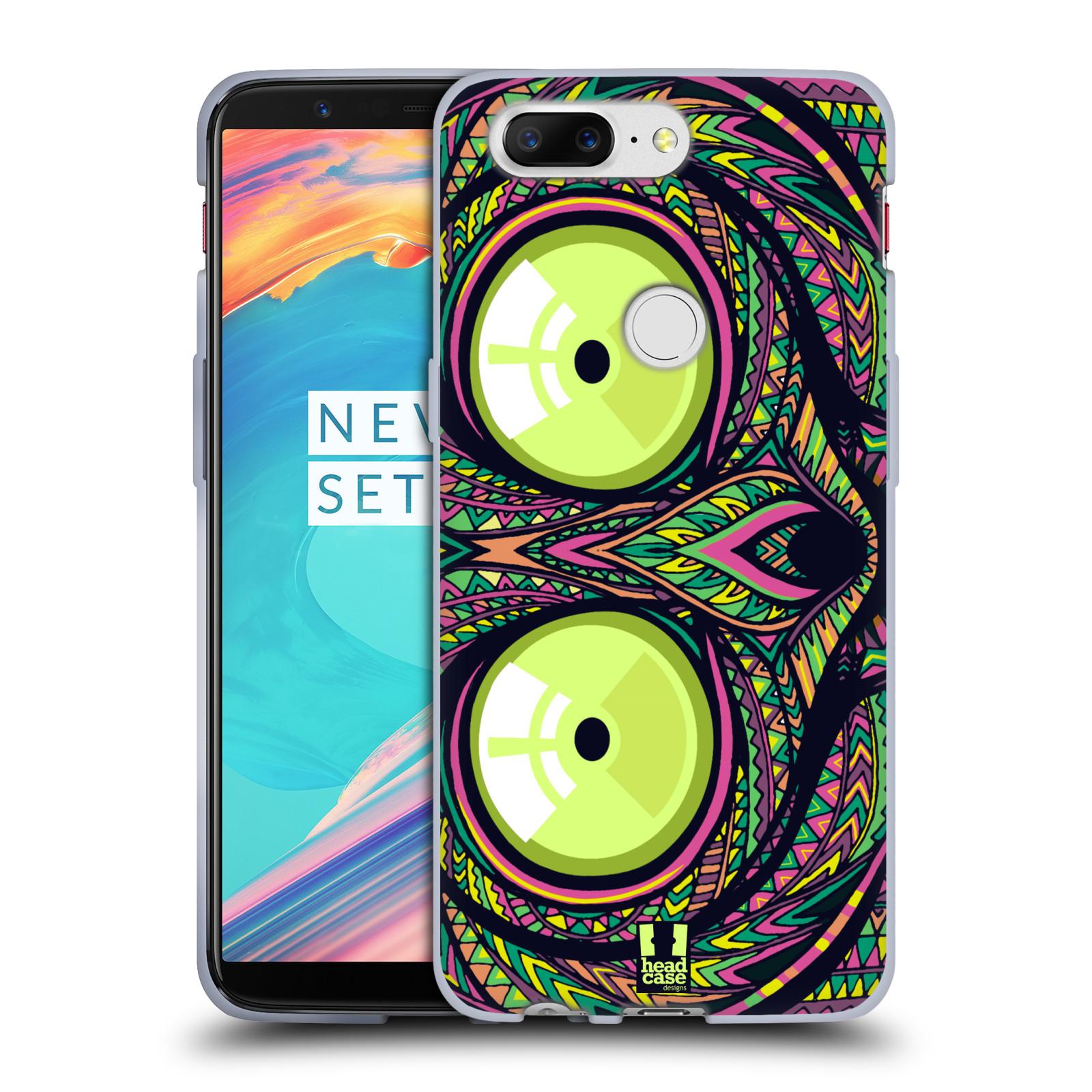 Silikonové pouzdro na mobil OnePlus 5T - Head Case - AZTEC NÁRTOUN