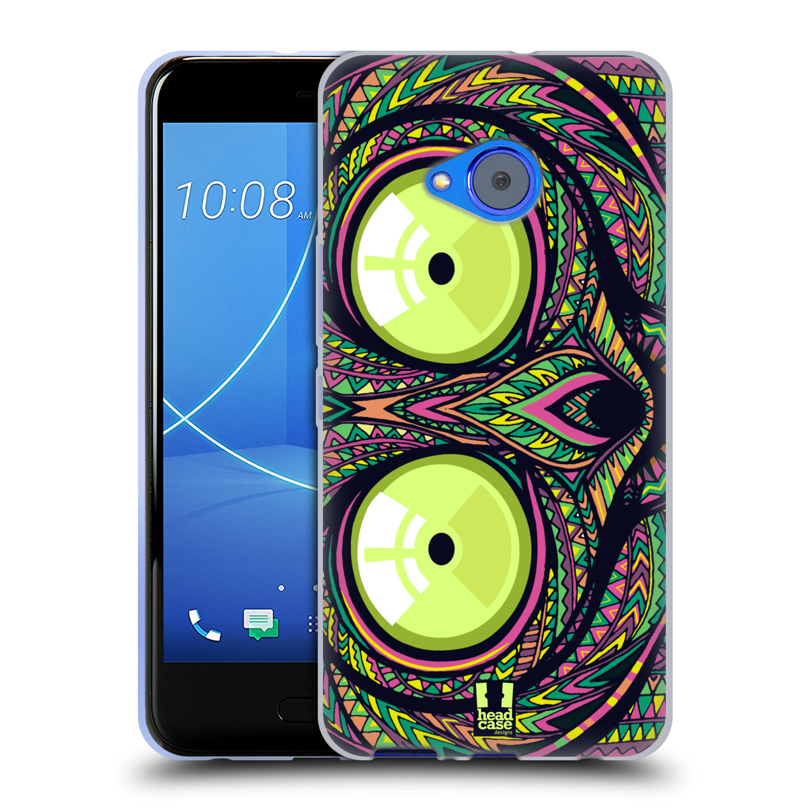 Silikonové pouzdro na mobil HTC U11 Life - Head Case - AZTEC NÁRTOUN