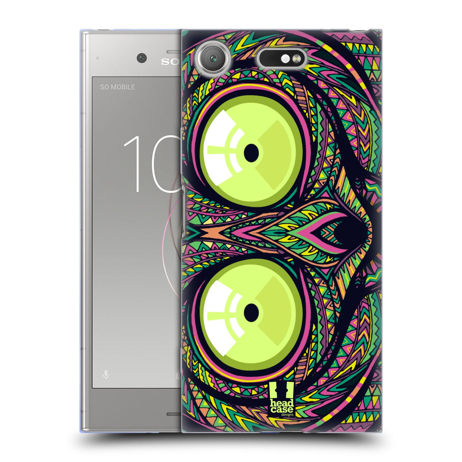 Silikonové pouzdro na mobil Sony Xperia XZ1 Compact - Head Case - AZTEC NÁRTOUN