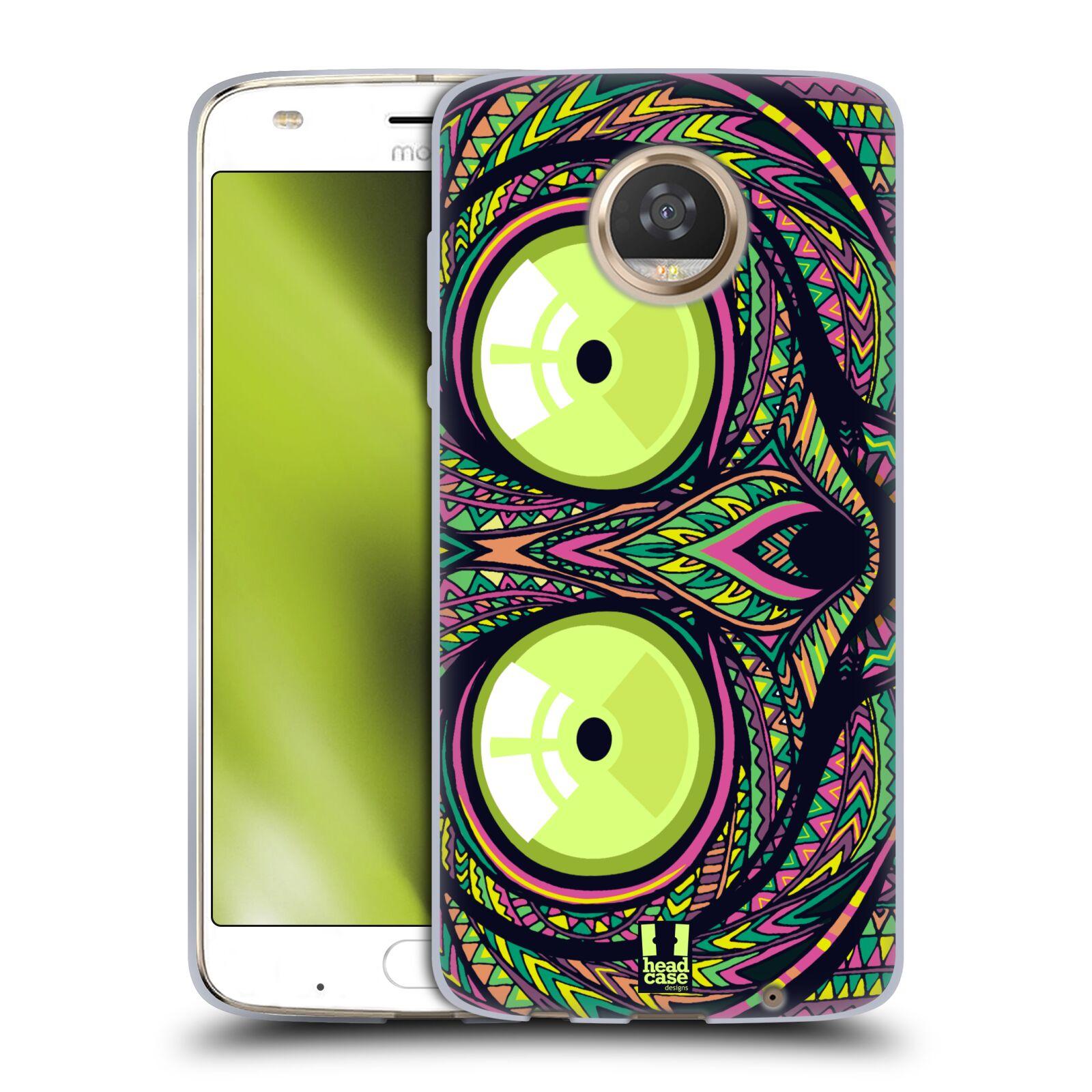 Silikonové pouzdro na mobil Lenovo Moto Z2 Play - Head Case - AZTEC NÁRTOUN