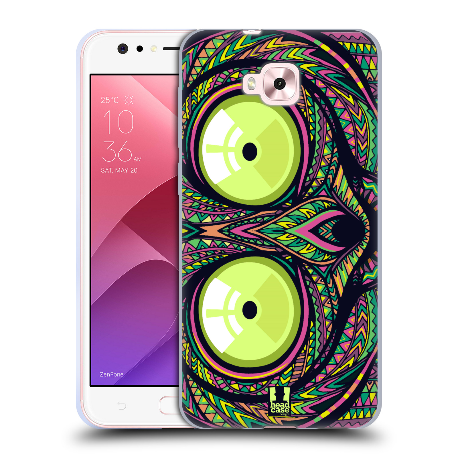Silikonové pouzdro na mobil Asus Zenfone 4 Selfie ZD553KL - Head Case - AZTEC NÁRTOUN