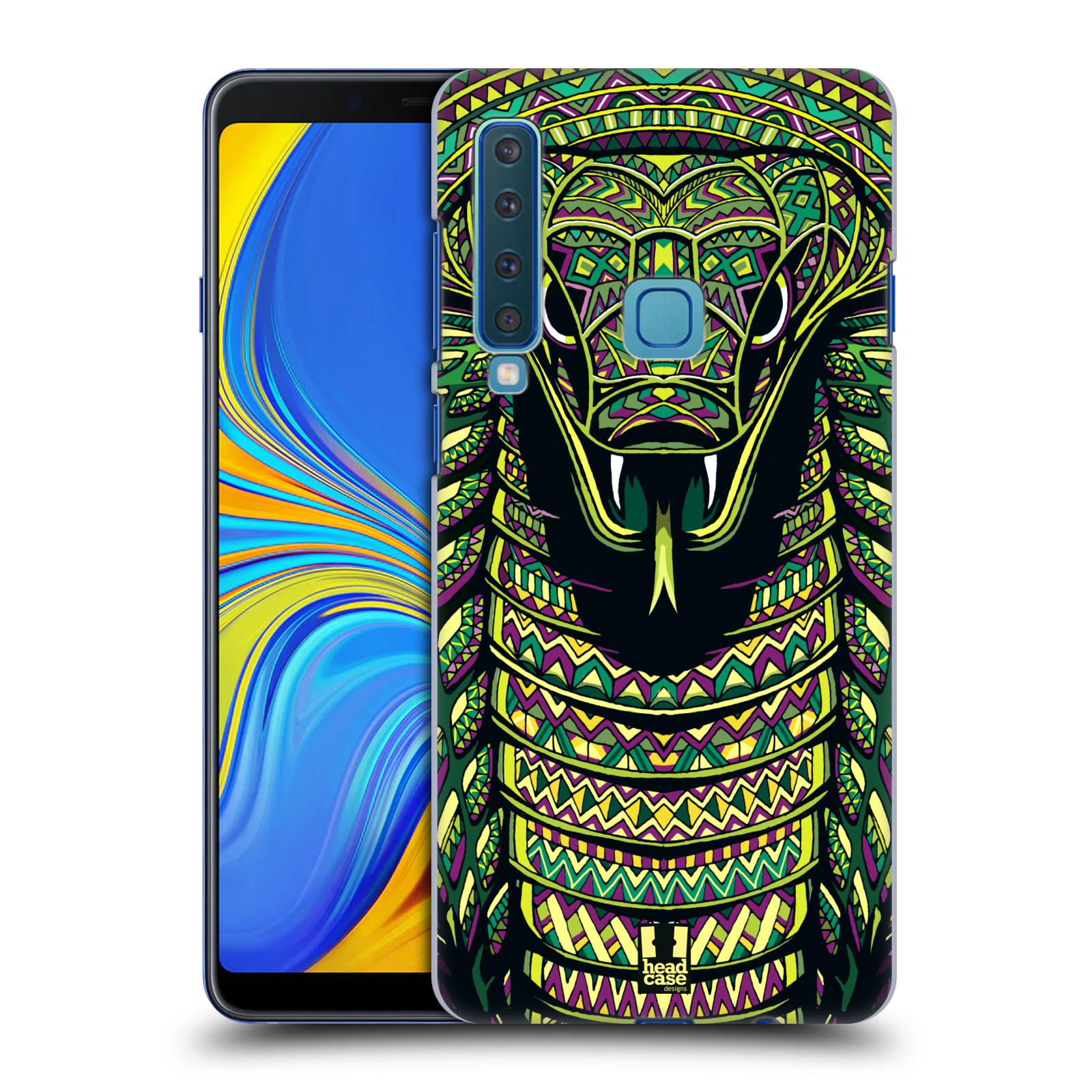 Plastové pouzdro na mobil Samsung Galaxy A9 (2018) - Head Case - AZTEC HAD