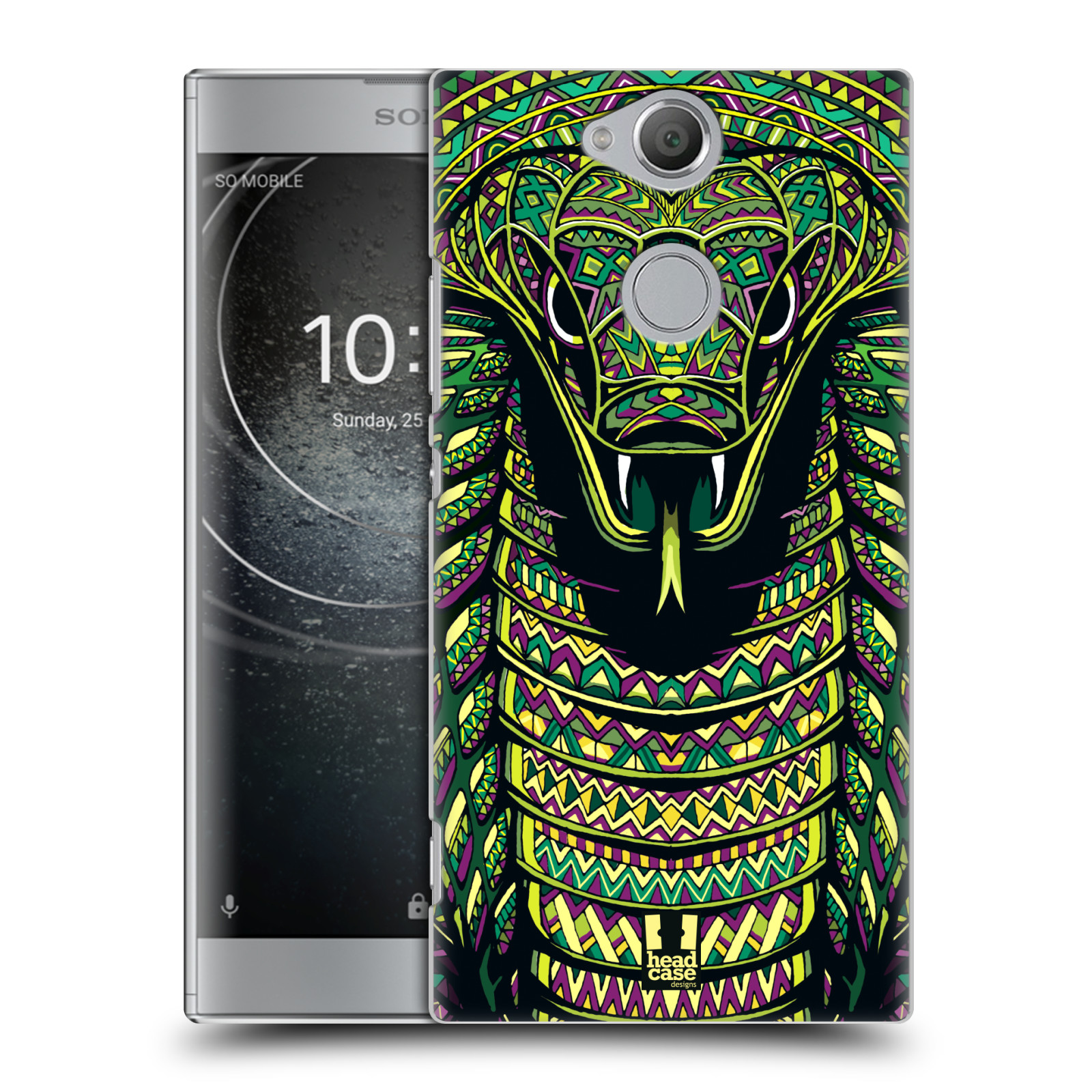 Plastové pouzdro na mobil Sony Xperia XA2 - Head Case - AZTEC HAD