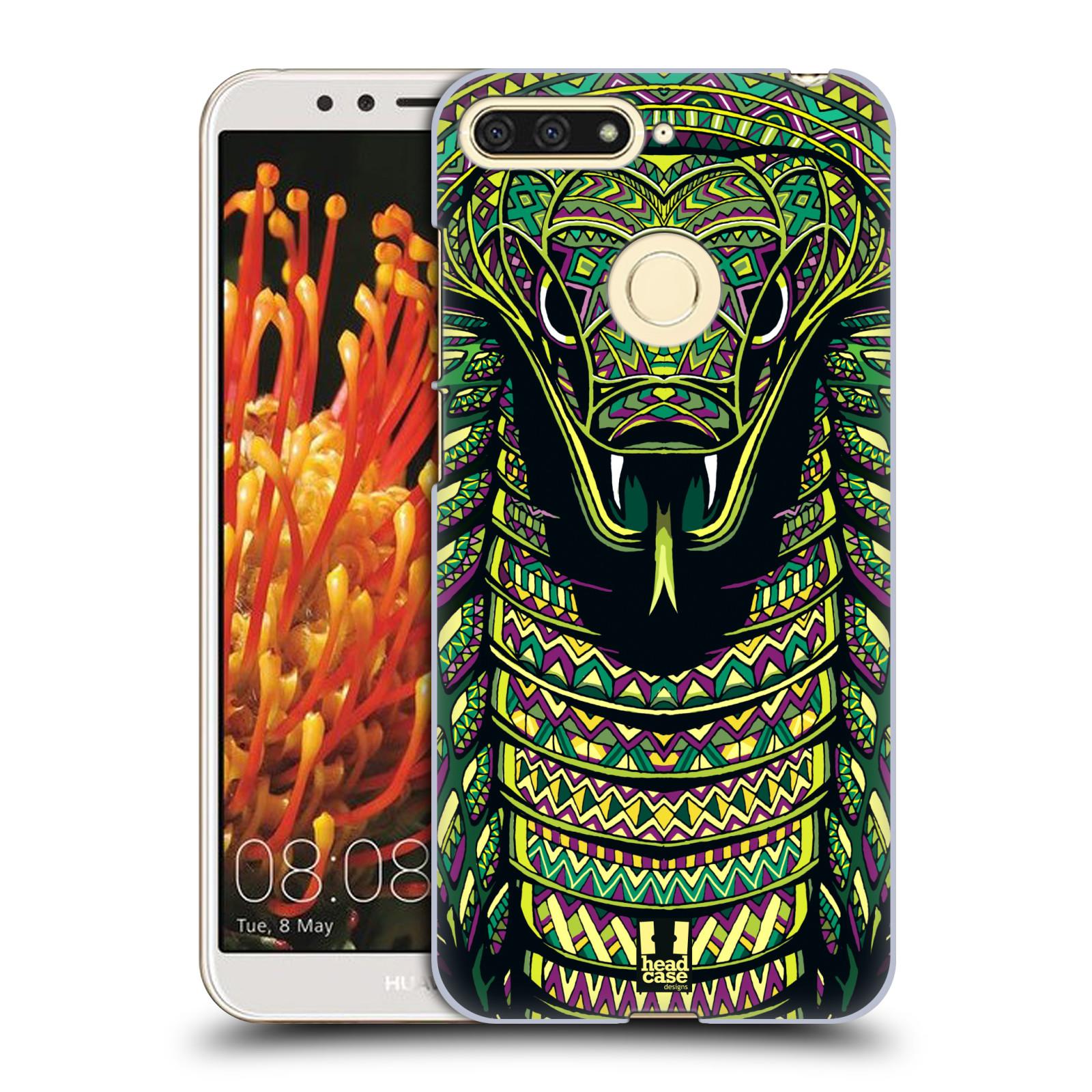 Plastové pouzdro na mobil Huawei Y6 Prime 2018 - Head Case - AZTEC HAD