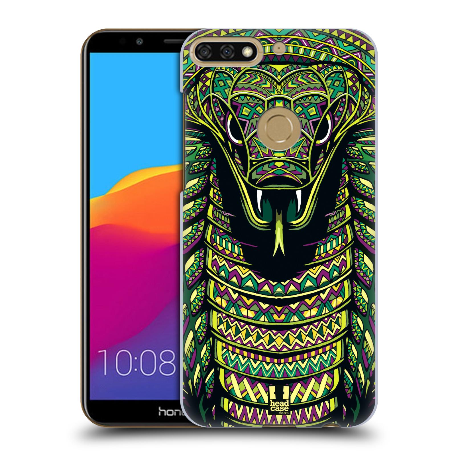 Plastové pouzdro na mobil Huawei Y7 Prime 2018 - Head Case - AZTEC HAD