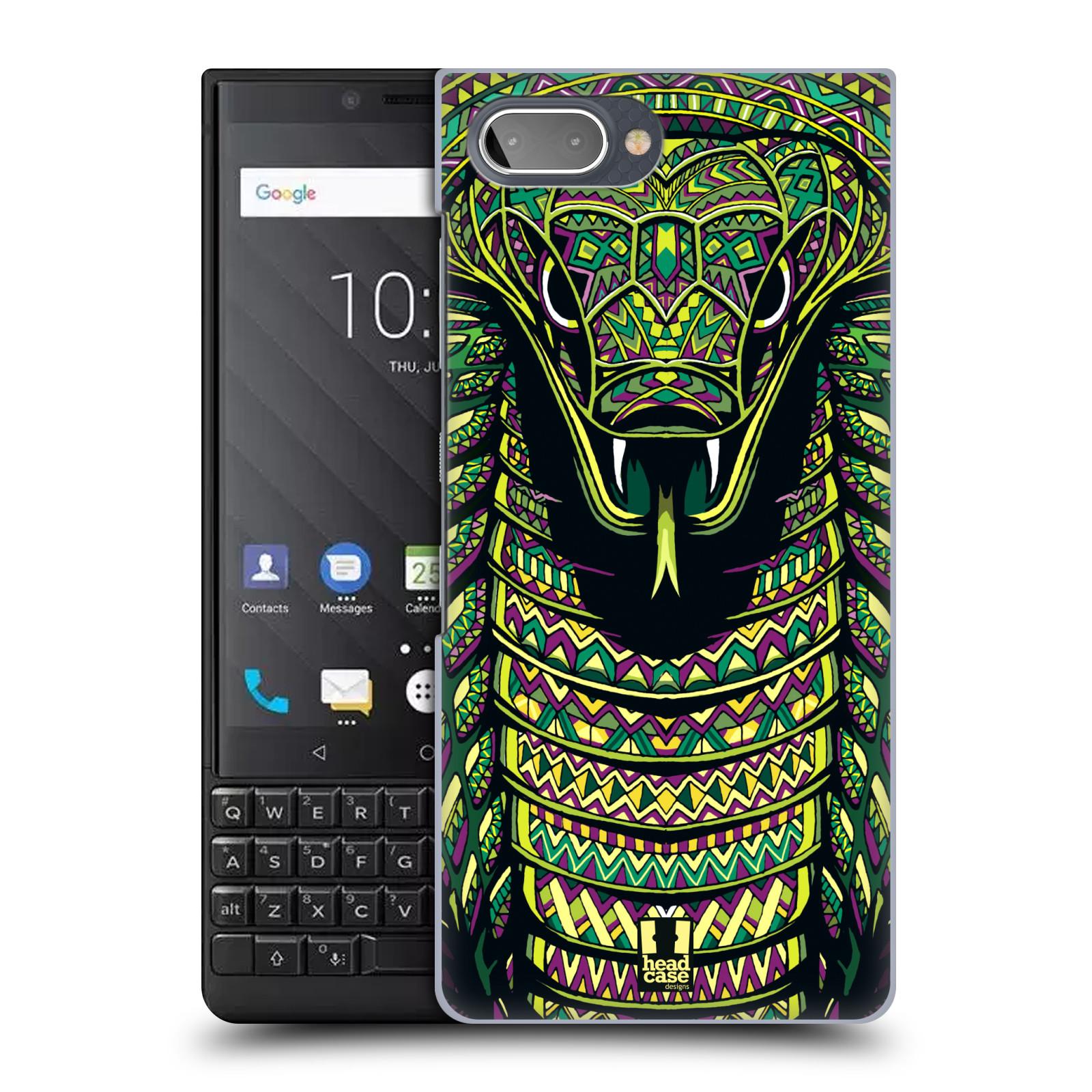 Plastové pouzdro na mobil Blackberry Key 2 - Head Case - AZTEC HAD