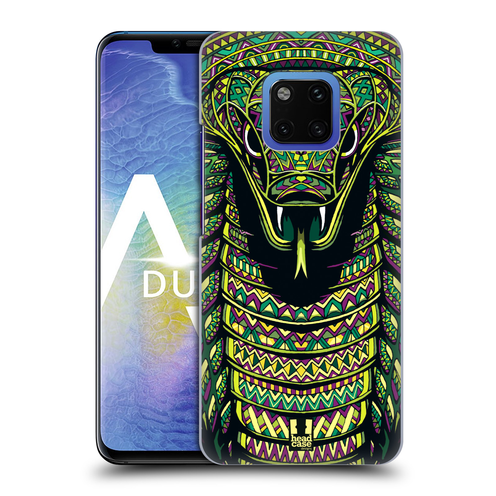 Plastové pouzdro na mobil Huawei Mate 20 Pro - Head Case - AZTEC HAD