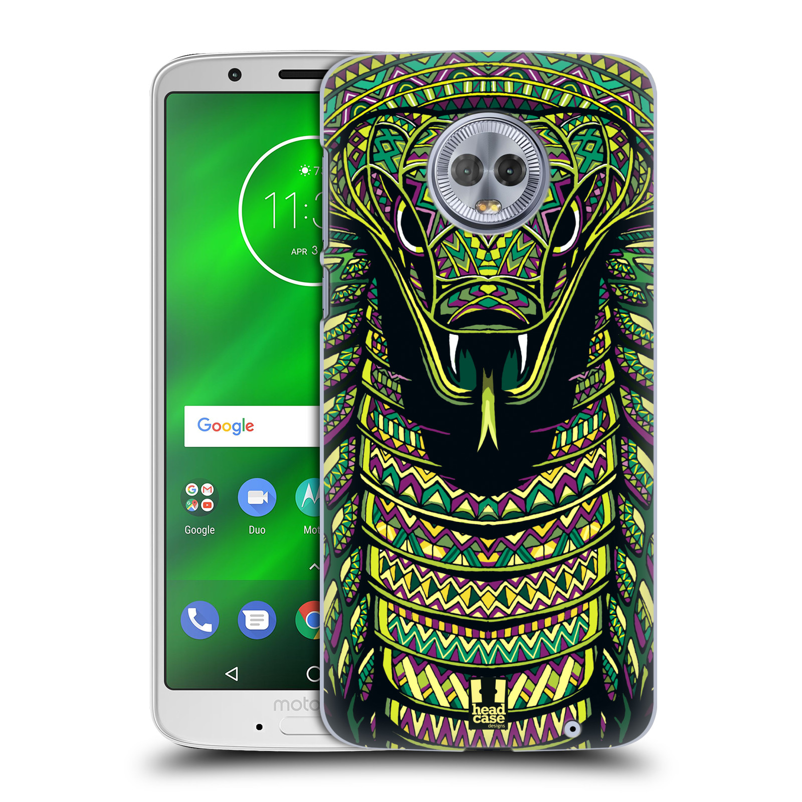 Plastové pouzdro na mobil Motorola Moto G6 Plus - Head Case - AZTEC HAD