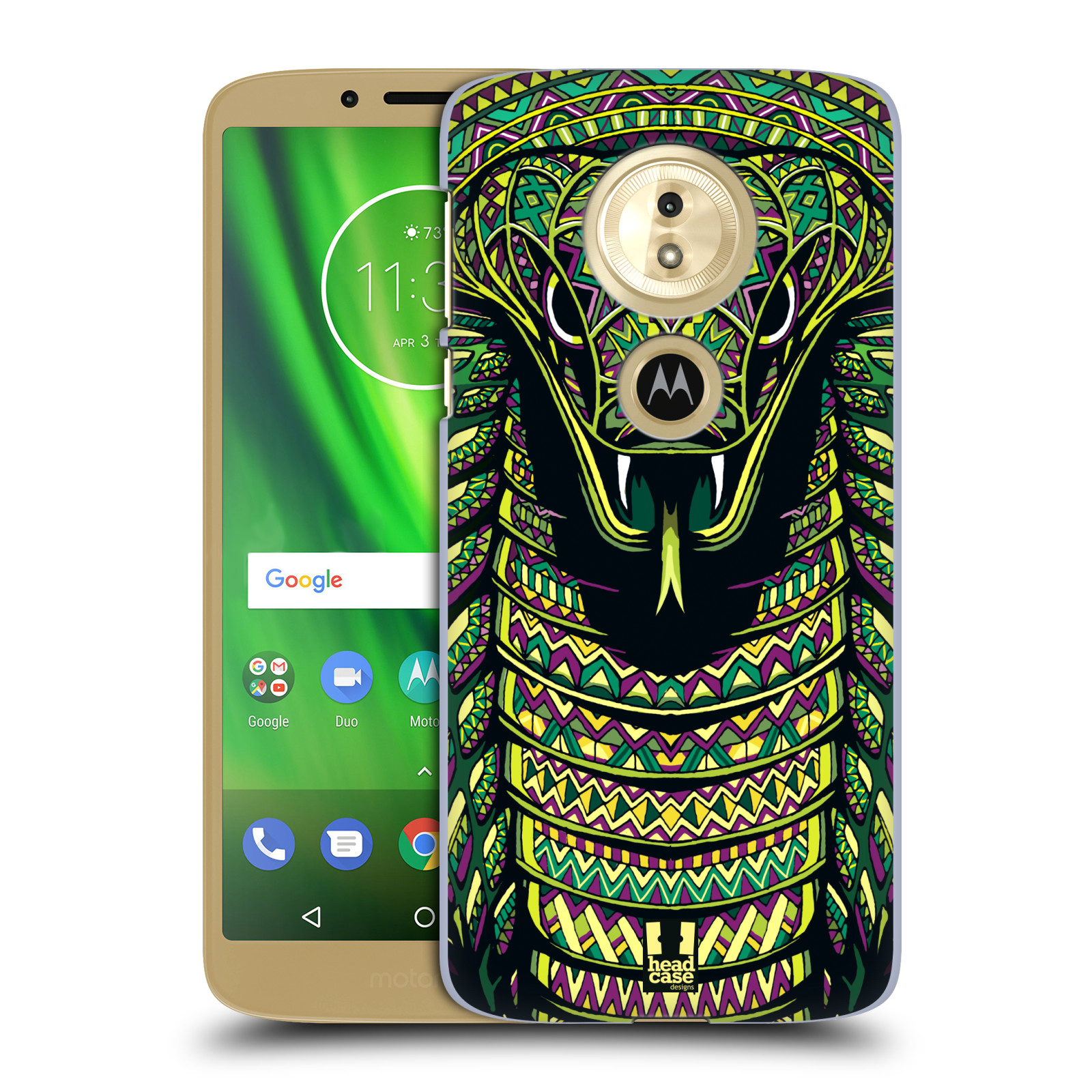 Plastové pouzdro na mobil Motorola Moto G6 Play - Head Case - AZTEC HAD
