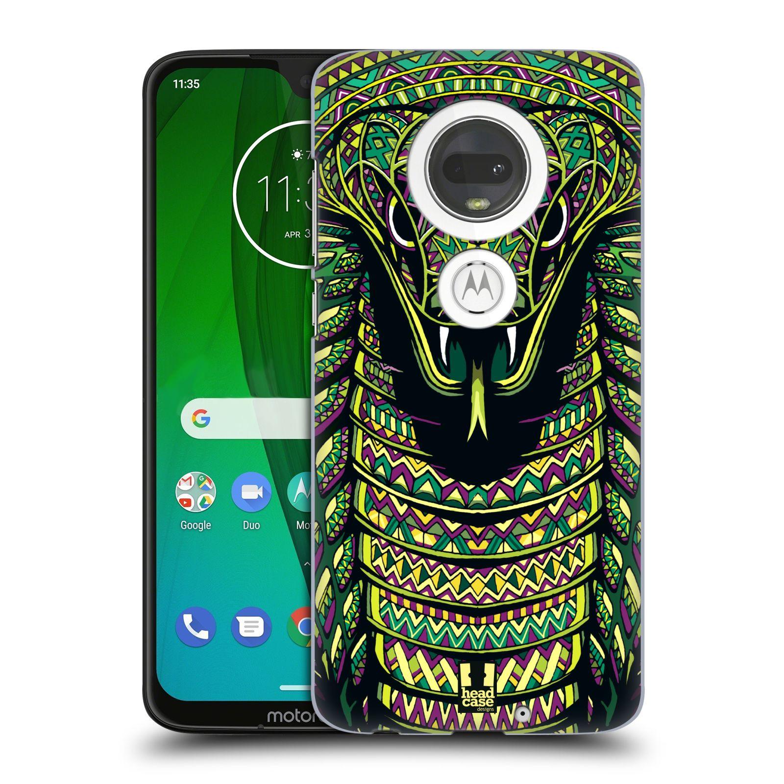 Plastové pouzdro na mobil Motorola Moto G7 - Head Case - AZTEC HAD