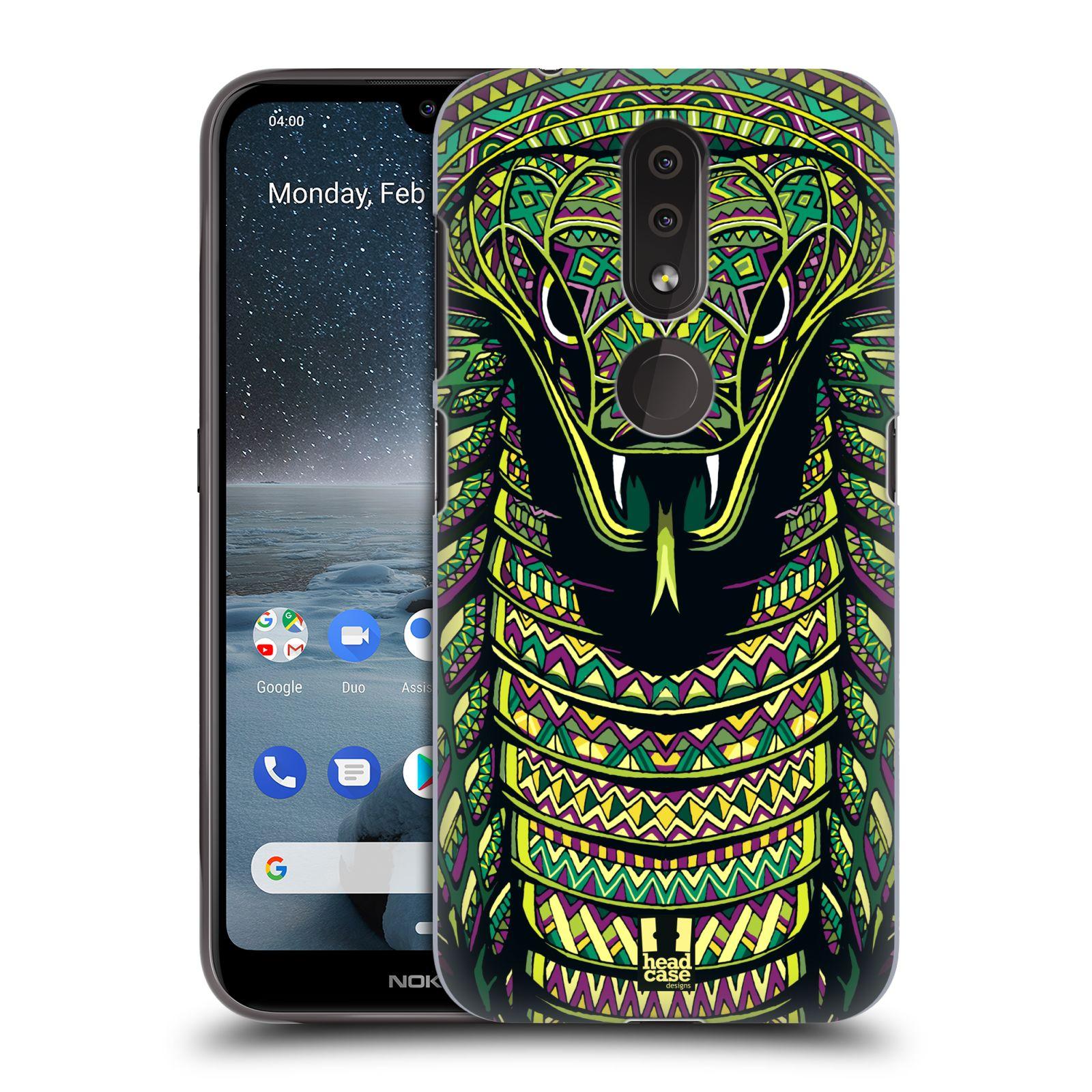 Plastové pouzdro na mobil Nokia 4.2 - Head Case - AZTEC HAD