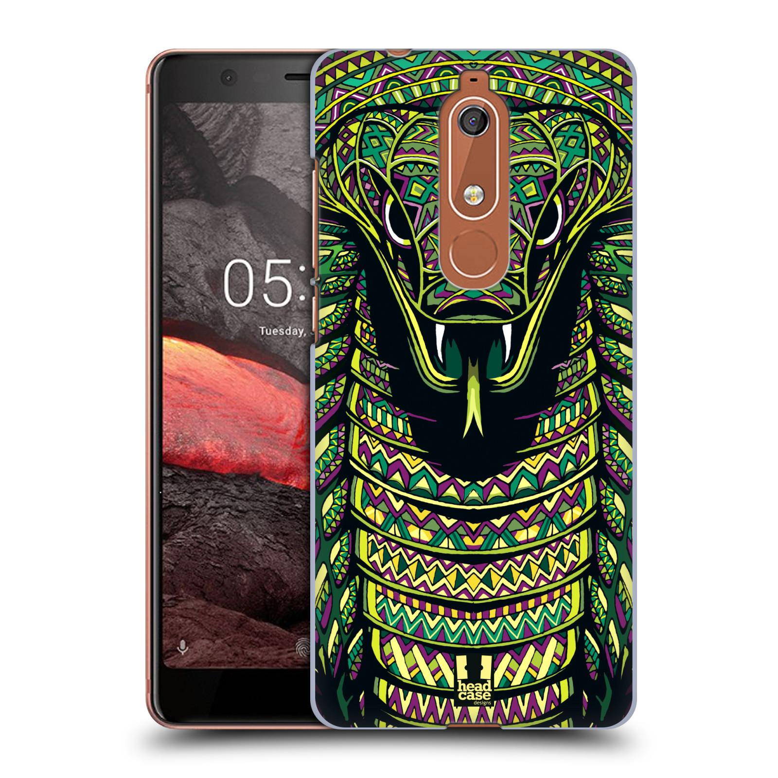 Plastové pouzdro na mobil Nokia 5.1 - Head Case - AZTEC HAD