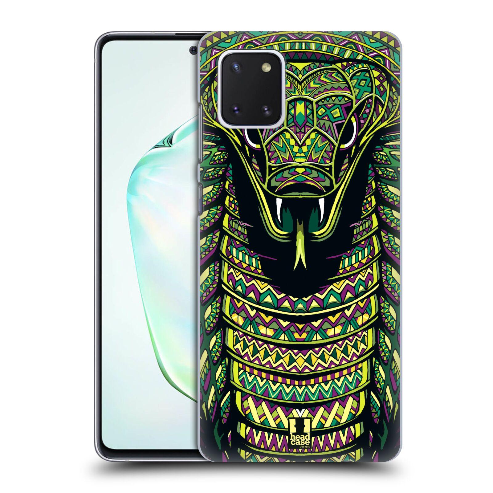 Plastové pouzdro na mobil Samsung Galaxy Note 10 Lite - Head Case - AZTEC HAD