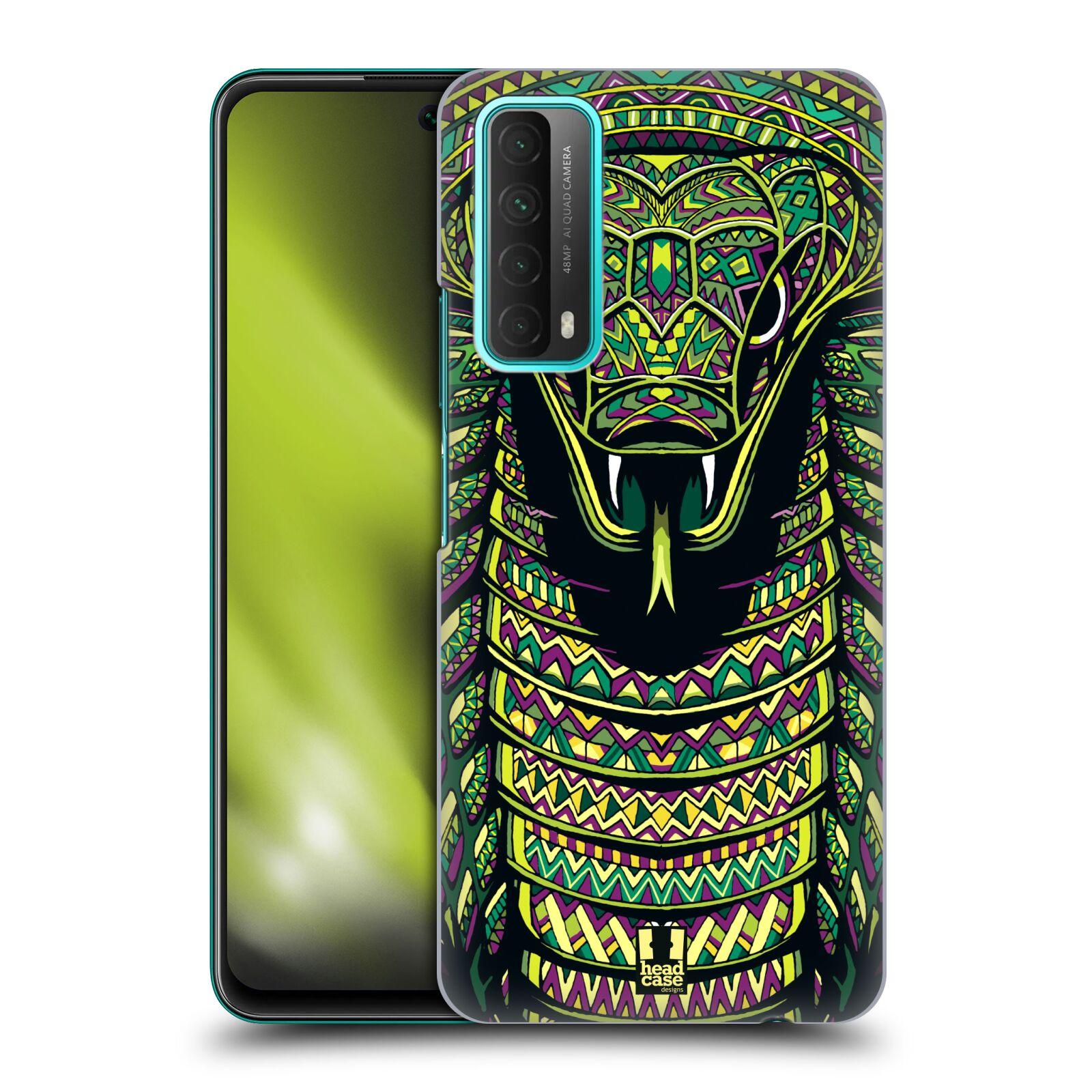 Plastové pouzdro na mobil Huawei P Smart (2021) - Head Case - AZTEC HAD