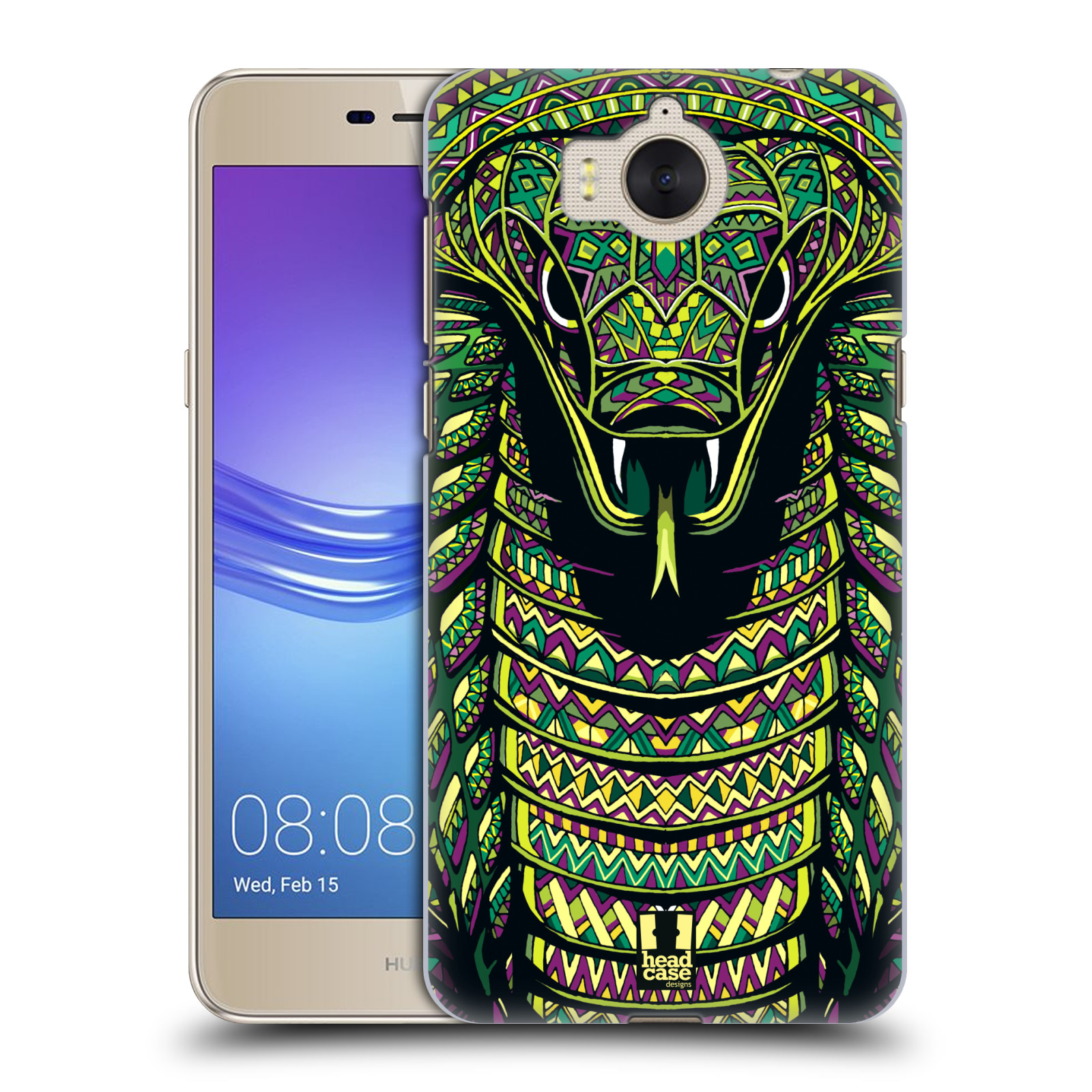 Plastové pouzdro na mobil Huawei Y6 2017 - Head Case - AZTEC HAD