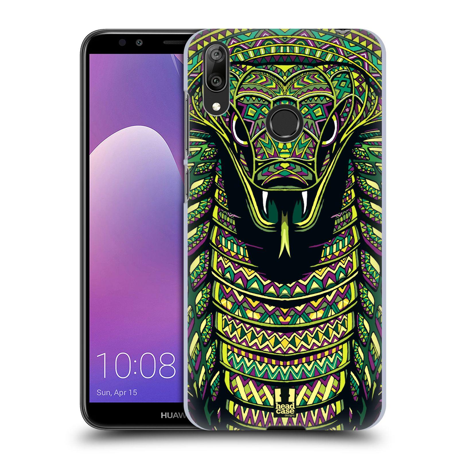 Plastové pouzdro na mobil Huawei Y7 (2019) - Head Case - AZTEC HAD