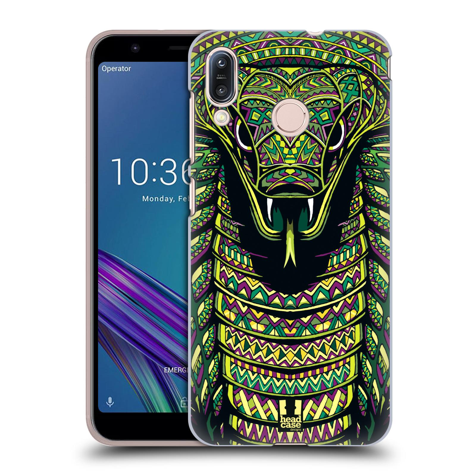 Plastové pouzdro na mobil Asus Zenfone Max M1 ZB555KL - Head Case - AZTEC HAD