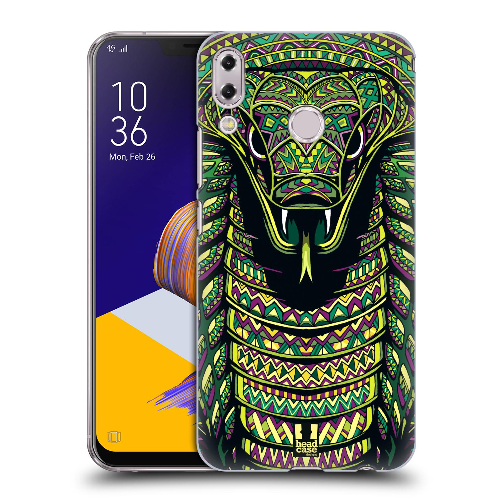 Plastové pouzdro na mobil Asus Zenfone 5z ZS620KL - Head Case - AZTEC HAD