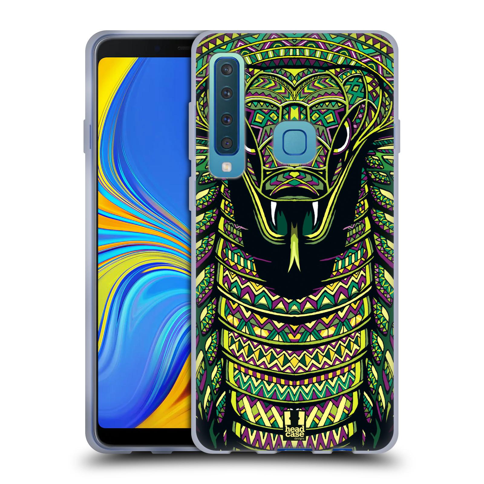 Silikonové pouzdro na mobil Samsung Galaxy A9 (2018) - Head Case - AZTEC HAD