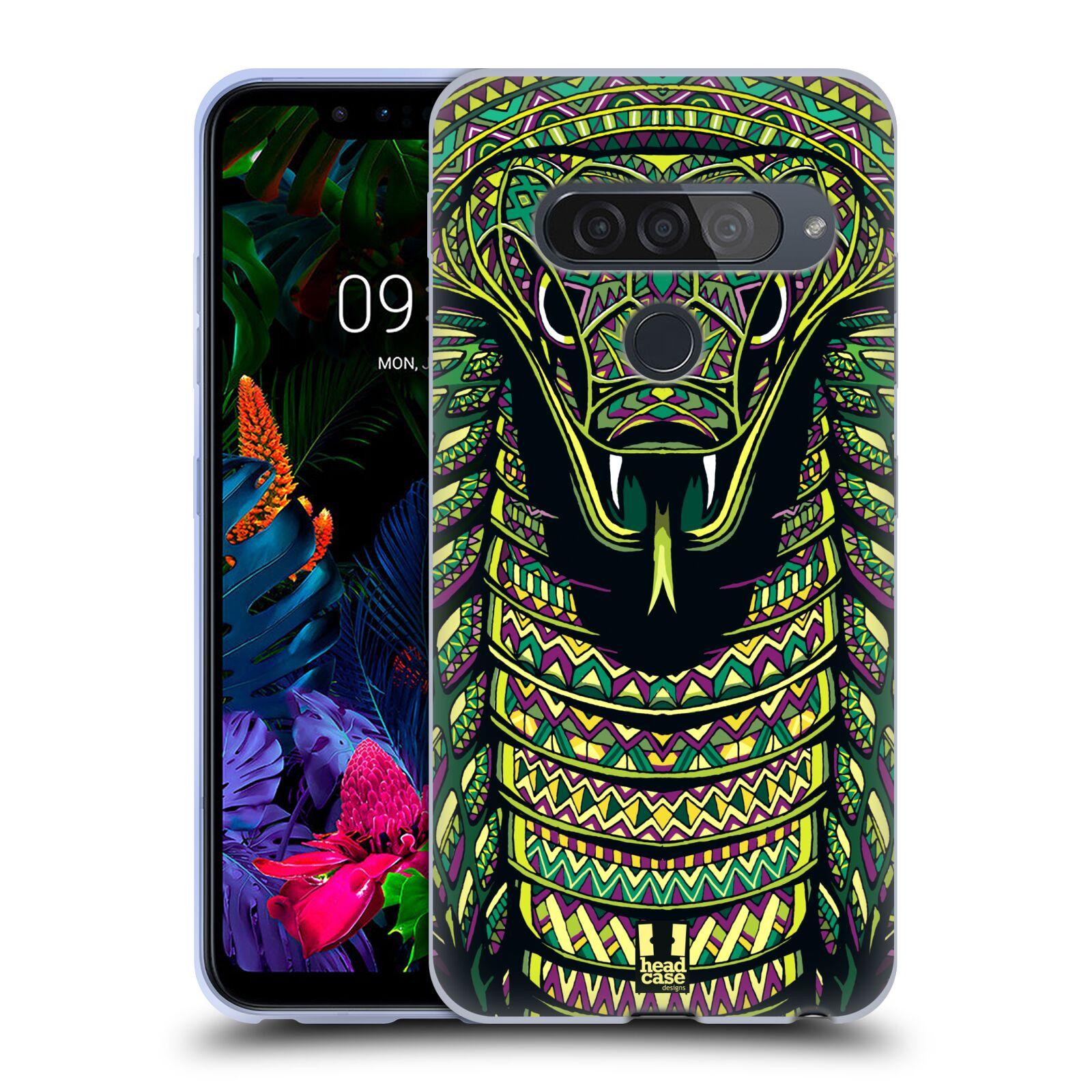 Silikonové pouzdro na mobil LG G8s ThinQ - Head Case - AZTEC HAD