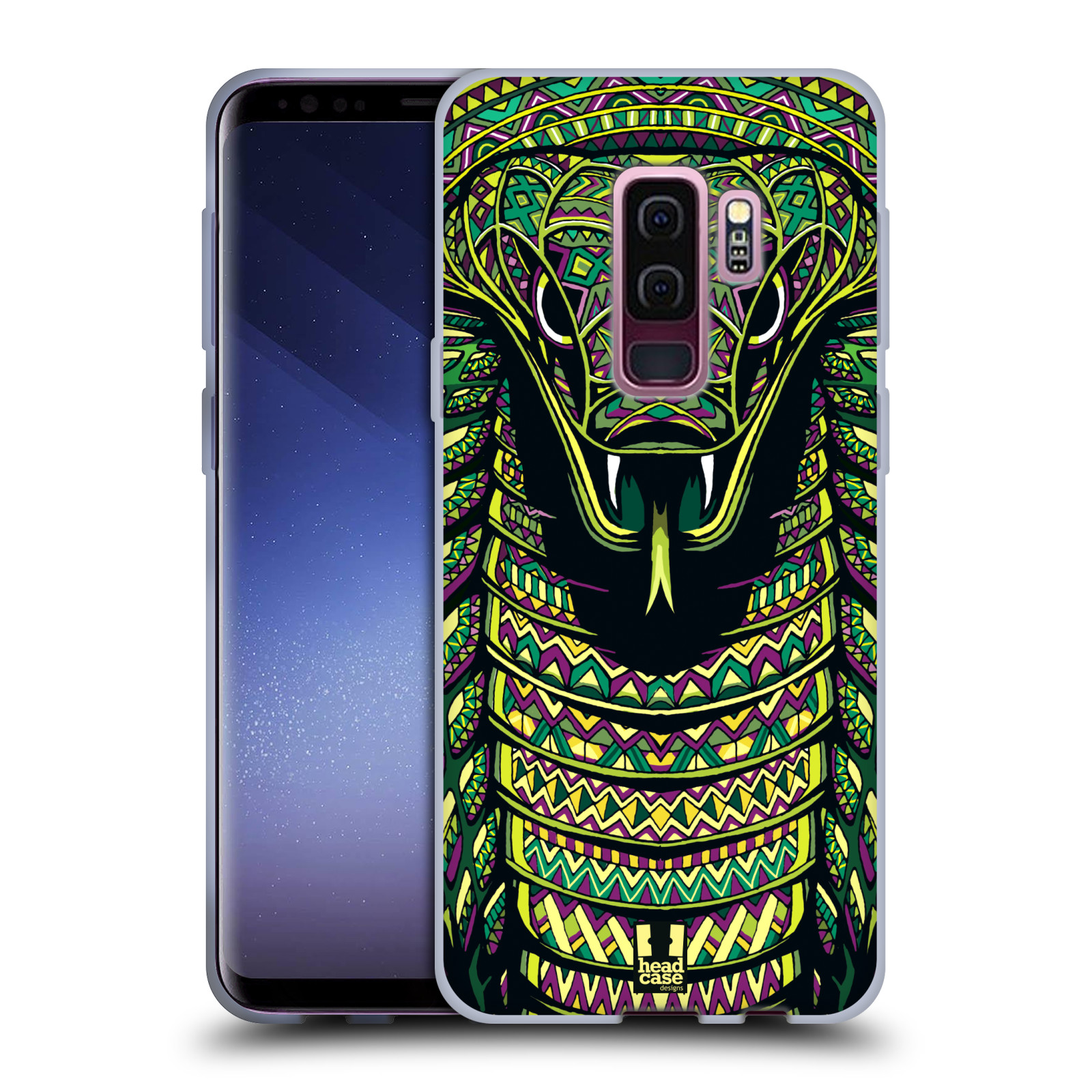 Silikonové pouzdro na mobil Samsung Galaxy S9 Plus - Head Case - AZTEC HAD