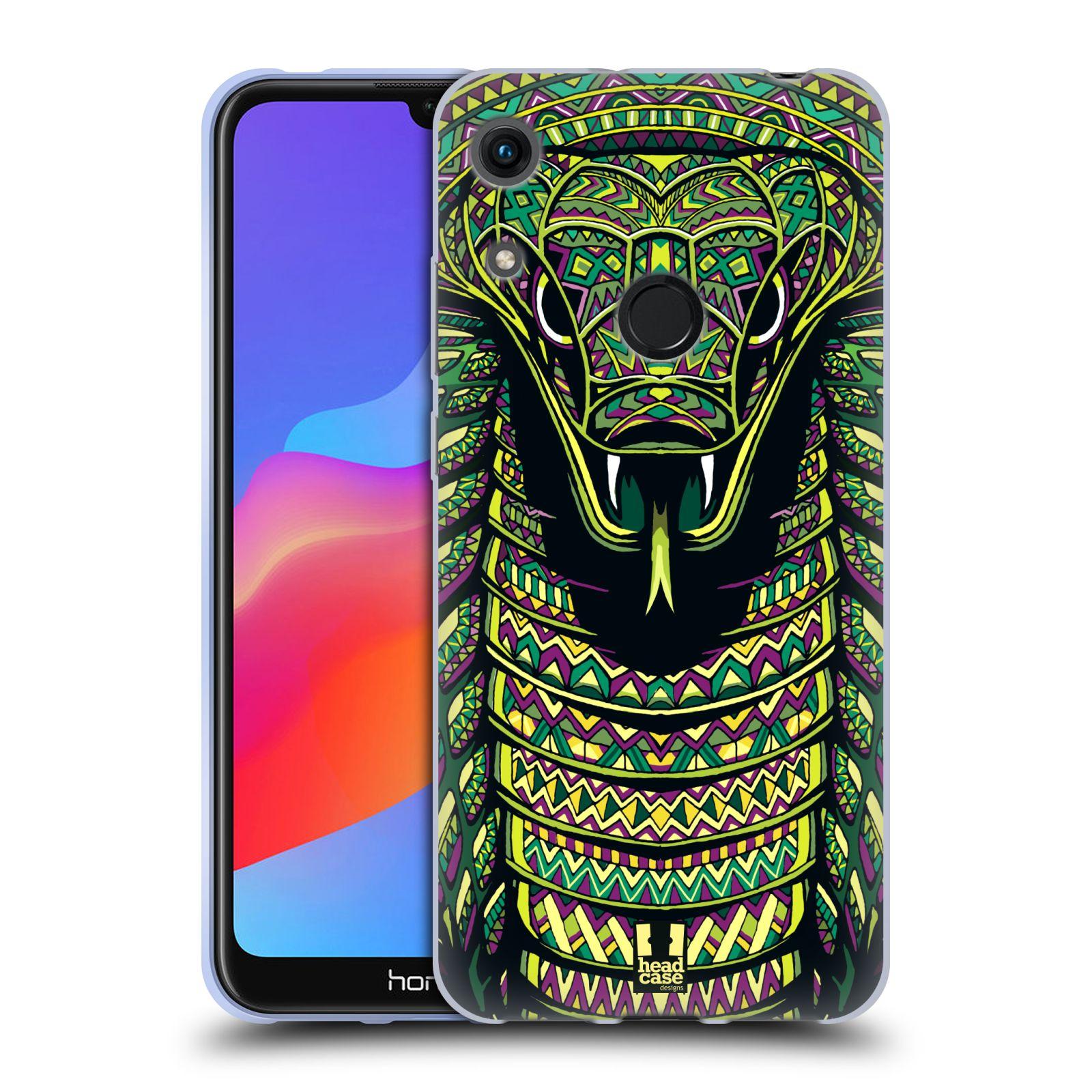 Silikonové pouzdro na mobil Honor 8A - Head Case - AZTEC HAD