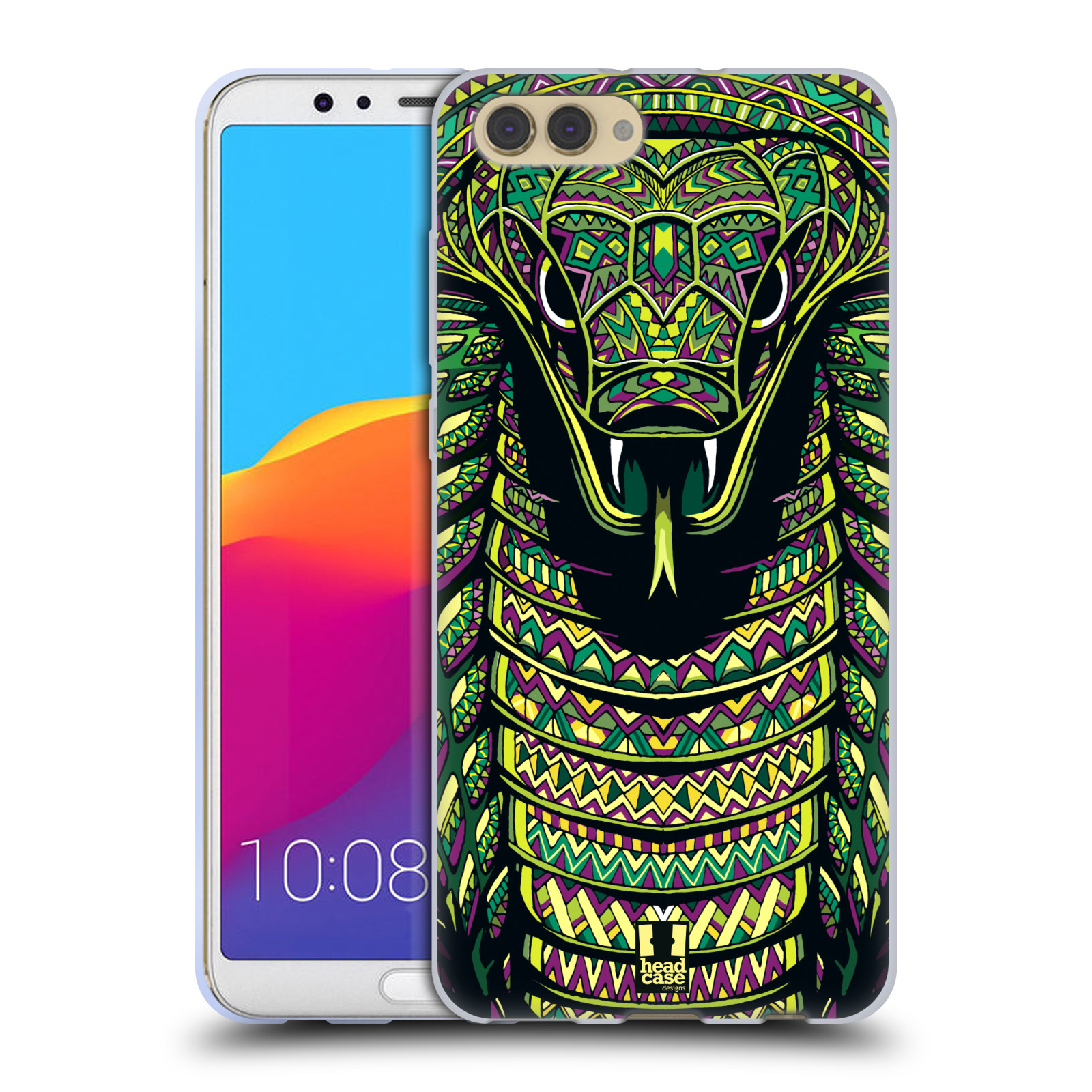 Silikonové pouzdro na mobil Honor View 10 - Head Case - AZTEC HAD