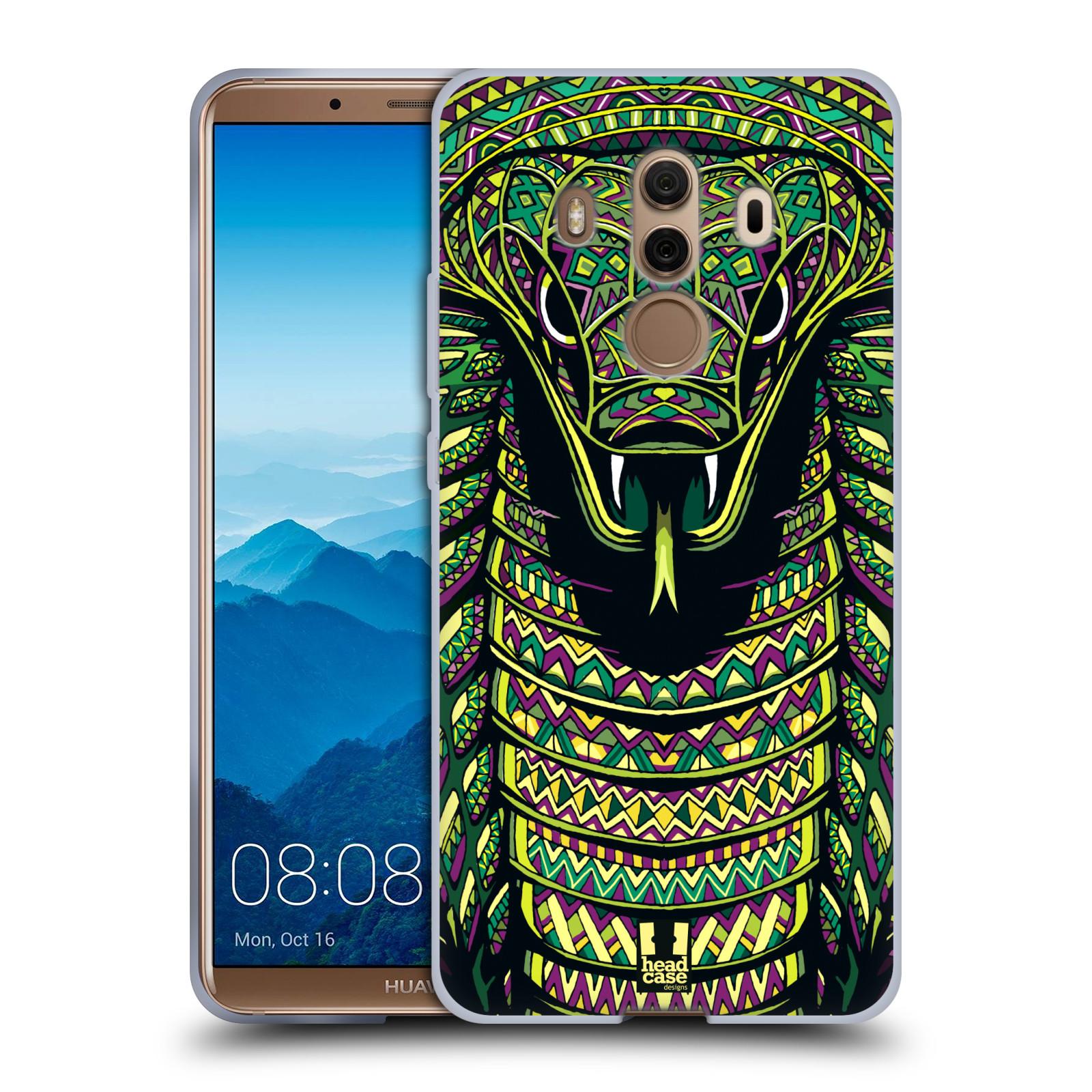 Silikonové pouzdro na mobil Huawei Mate 10 Pro - Head Case - AZTEC HAD